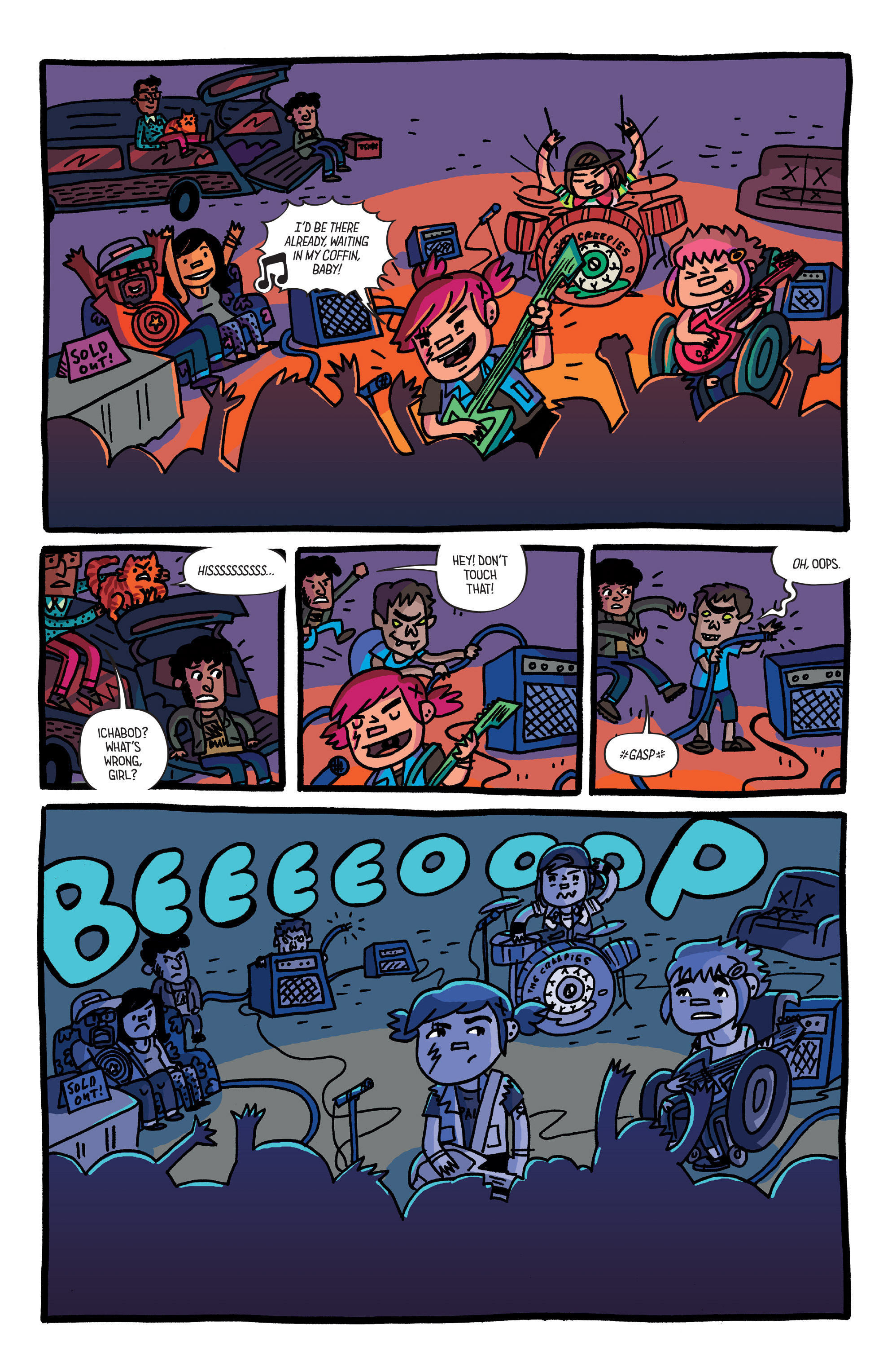 Read online Coady and the Creepies comic -  Issue #3 - 19