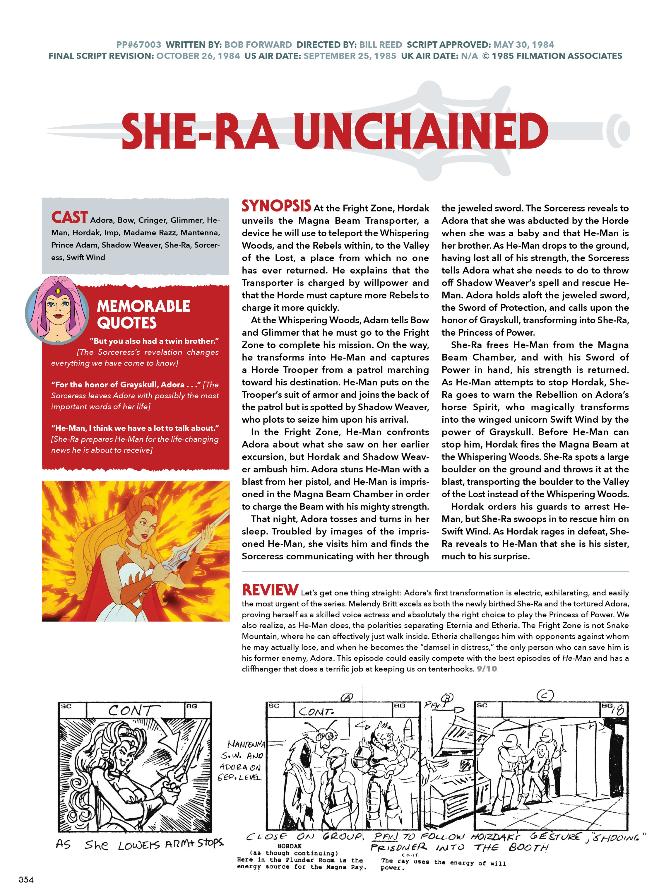 Read online He-Man and She-Ra: A Complete Guide to the Classic Animated Adventures comic -  Issue # TPB (Part 2) - 155