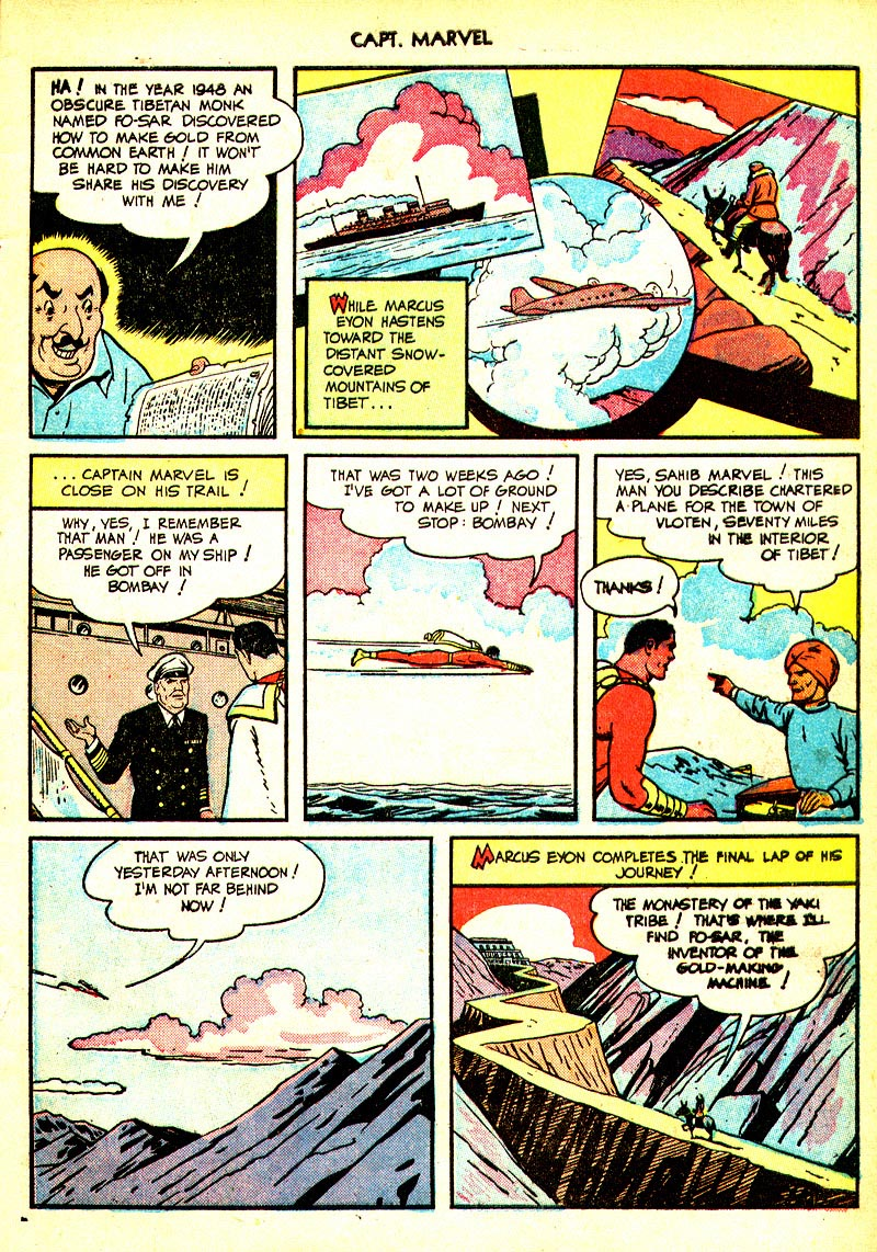 Captain Marvel Adventures issue 93 - Page 9