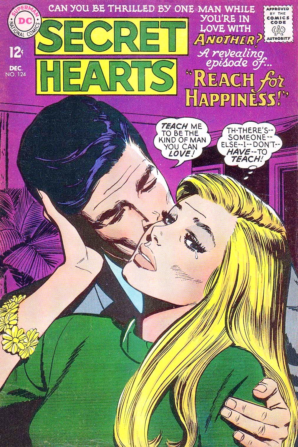 Read online Secret Hearts comic -  Issue #124 - 1