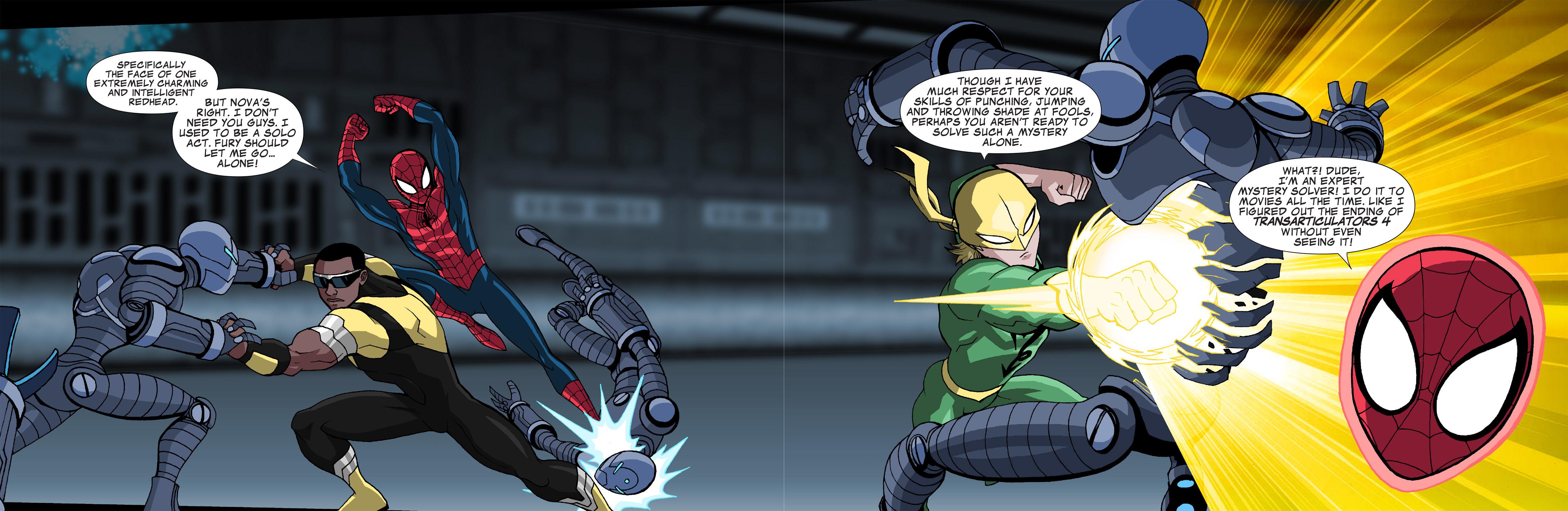 Read online Ultimate Spider-Man (Infinite Comics) (2015) comic -  Issue #21 - 10
