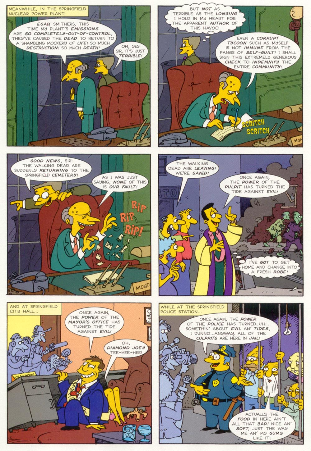 Read online Treehouse of Horror comic -  Issue #5 - 27