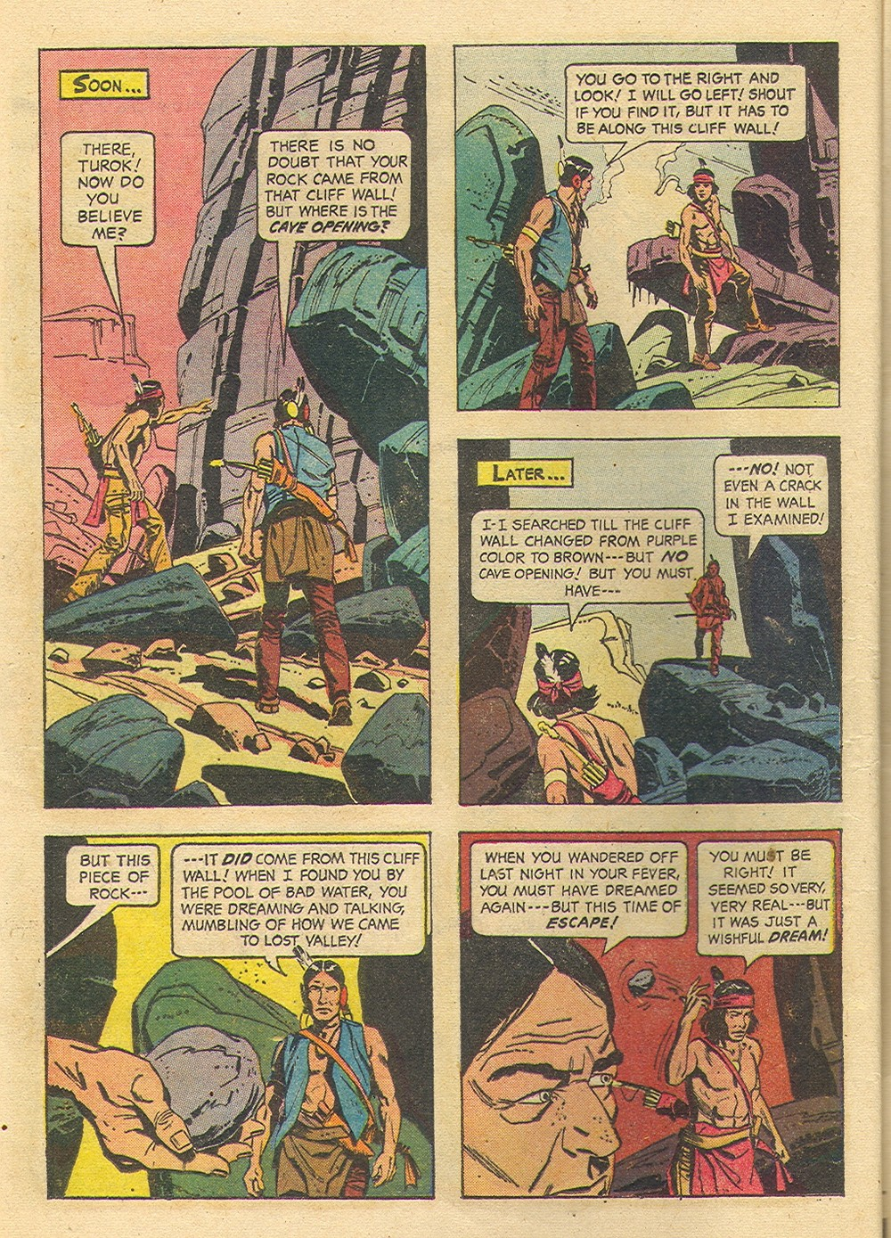 Read online Turok, Son of Stone comic -  Issue #35 - 16