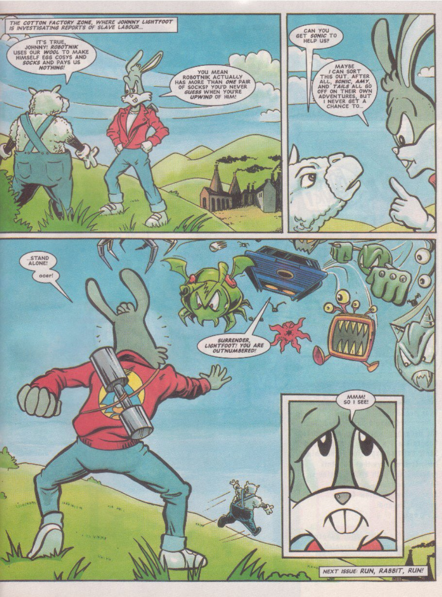 Read online Sonic the Comic comic -  Issue #70 - 28