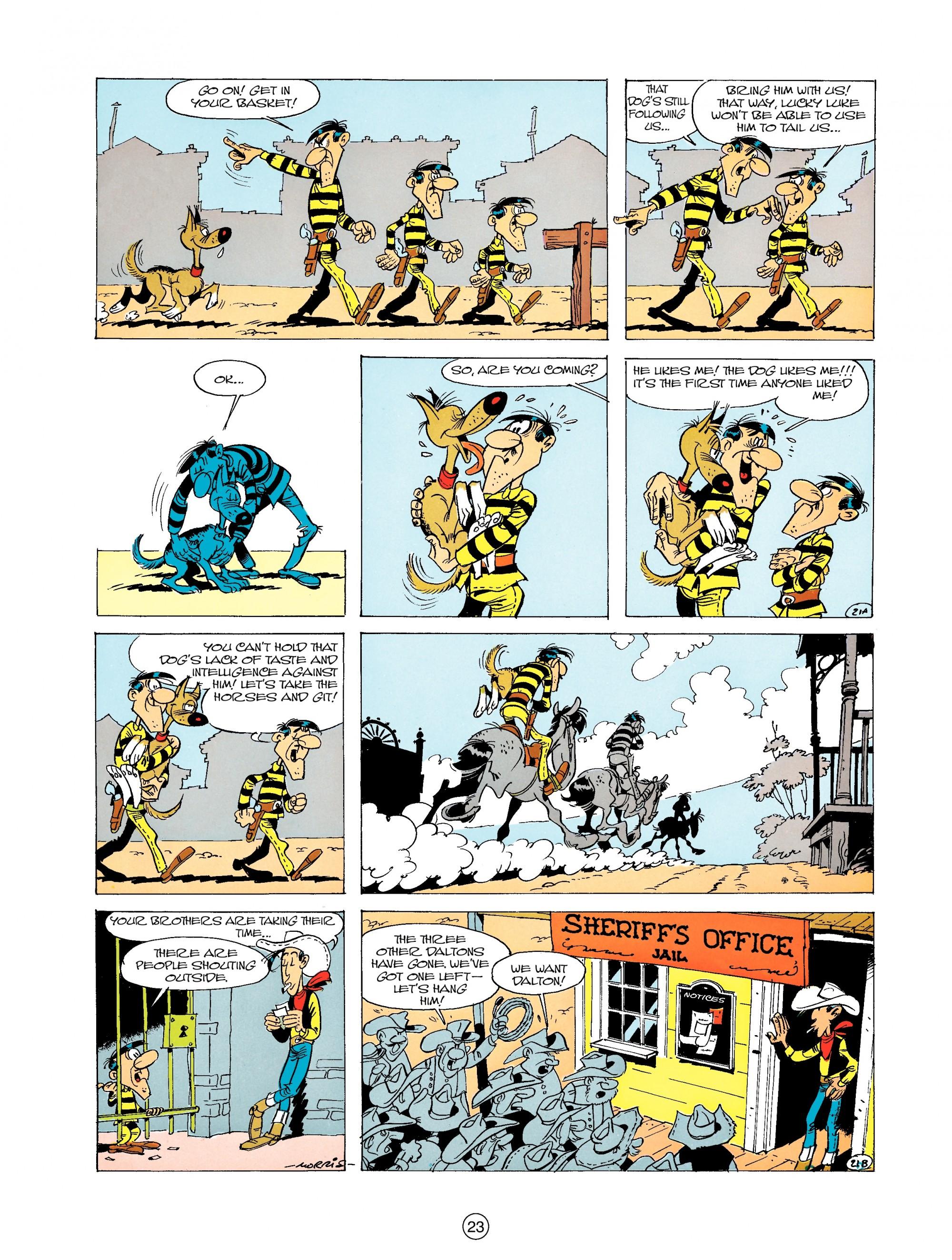 Read online A Lucky Luke Adventure comic -  Issue #19 - 23