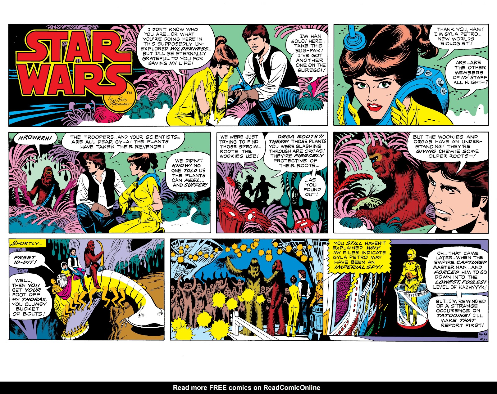 Read online Star Wars Legends: The Newspaper Strips - Epic Collection comic -  Issue # TPB (Part 1) - 34