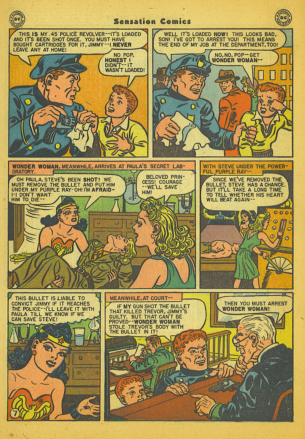 Read online Sensation (Mystery) Comics comic -  Issue #66 - 9