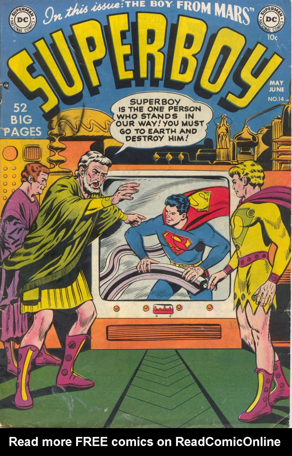 Superboy (1949) issue 14 - Page 1