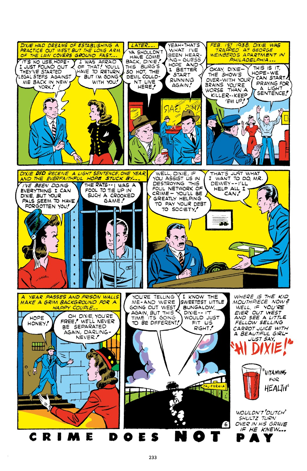 Read online Crime Does Not Pay Archives comic -  Issue # TPB 1 (Part 3) - 36