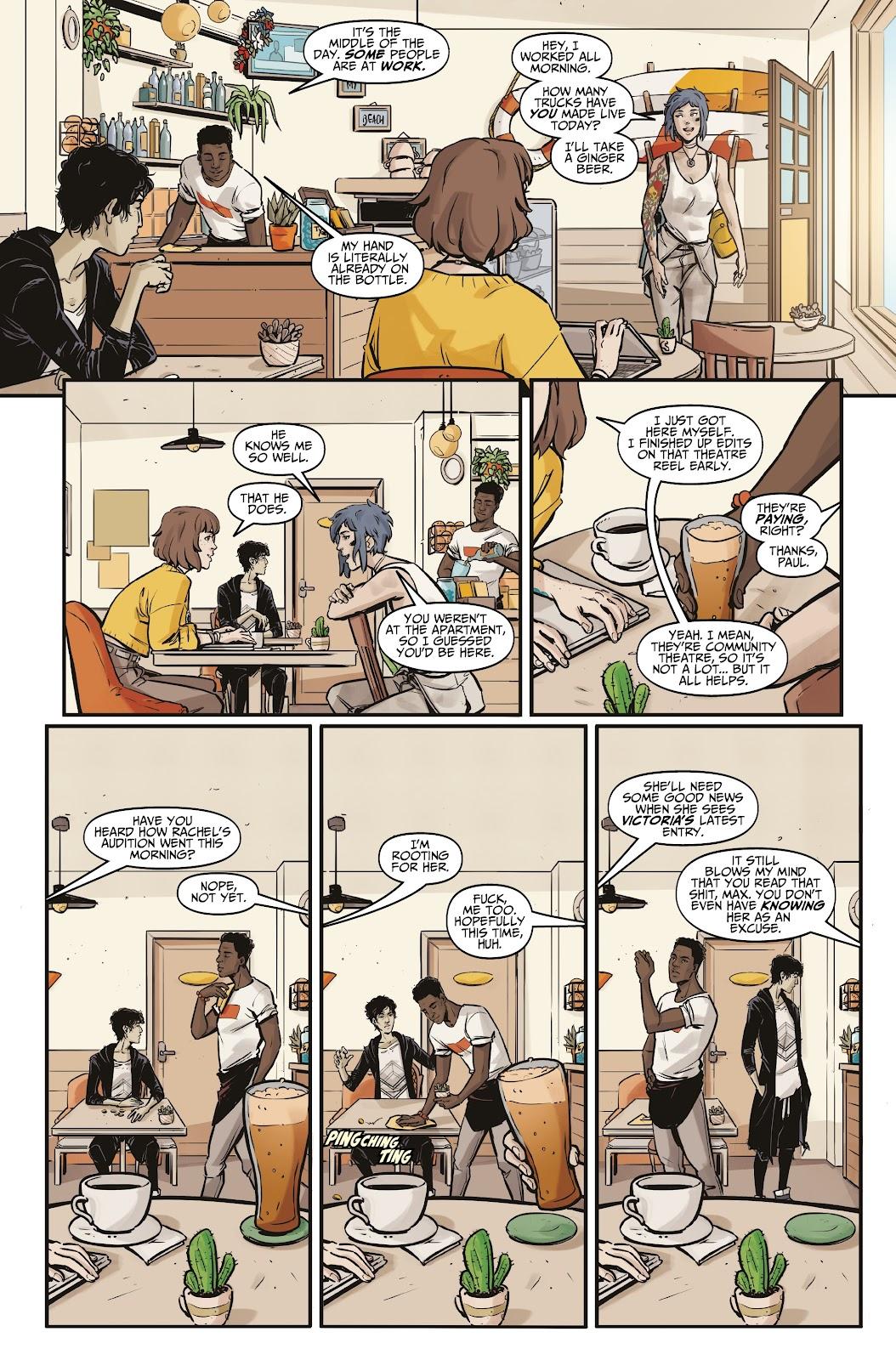 Read online Life is Strange comic -  Issue #5 - 9