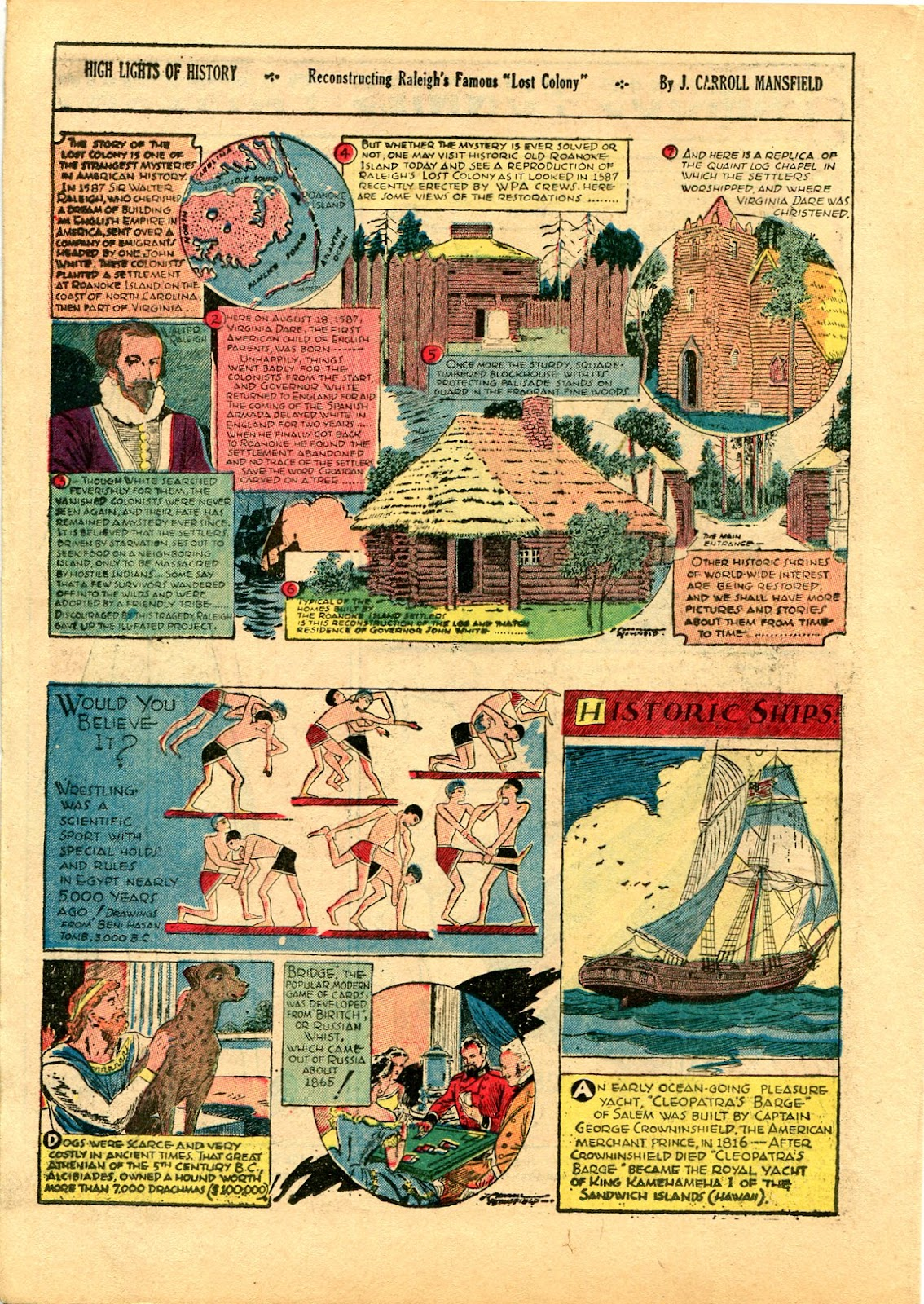 Read online Famous Funnies comic -  Issue #102 - 36