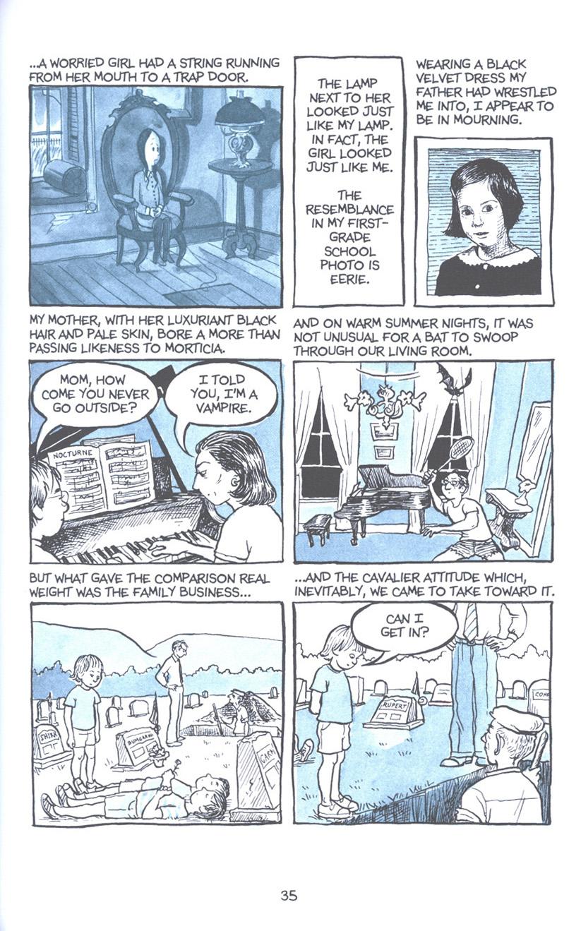 Read online Fun Home: A Family Tragicomic comic -  Issue # TPB - 42