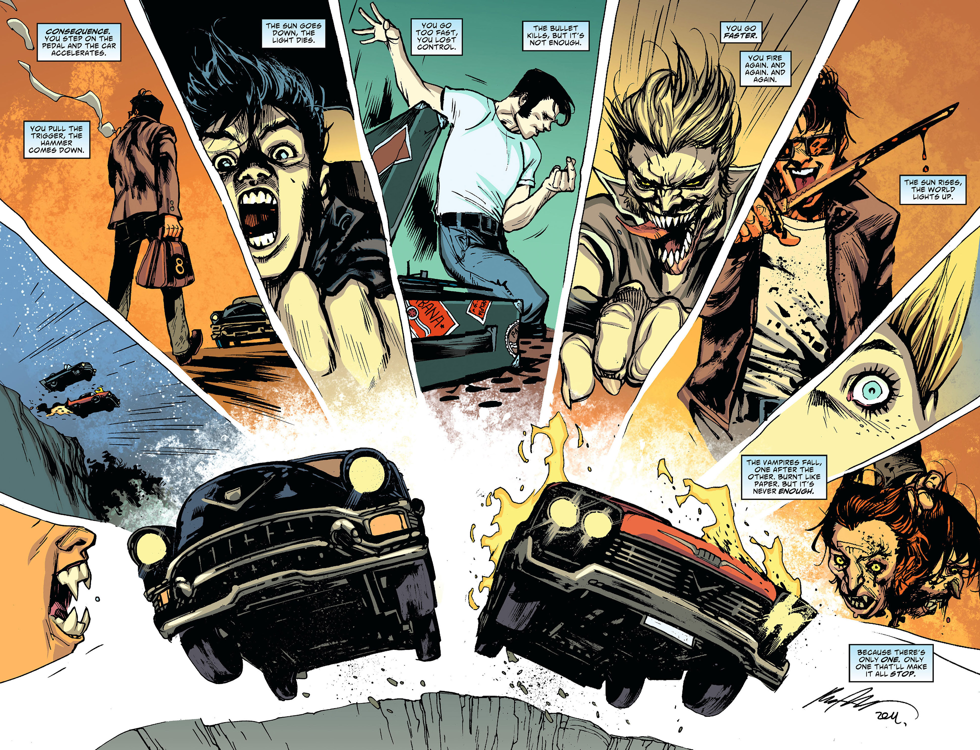 Read online American Vampire comic -  Issue #24 - 16