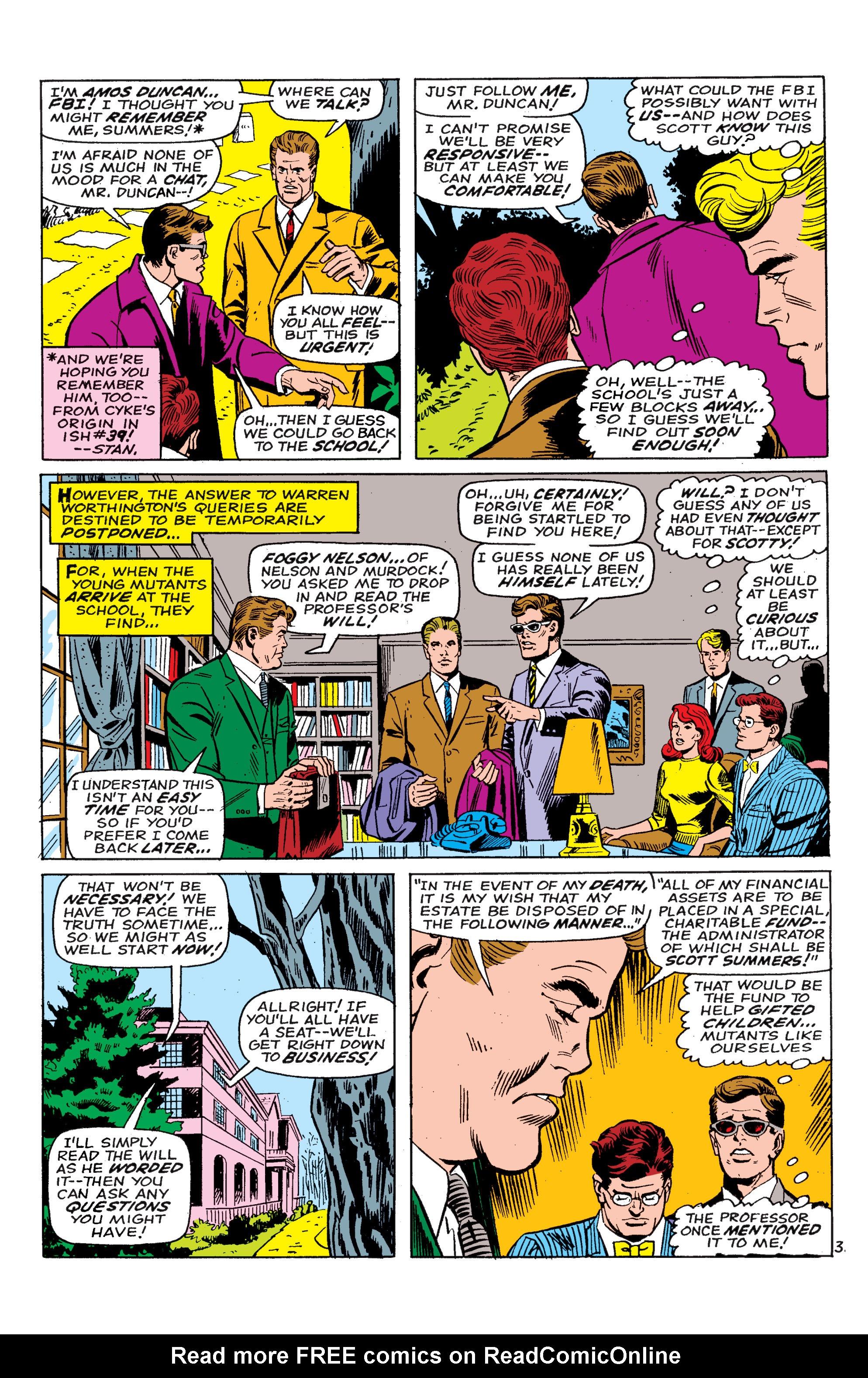 Read online Uncanny X-Men (1963) comic -  Issue #46 - 4