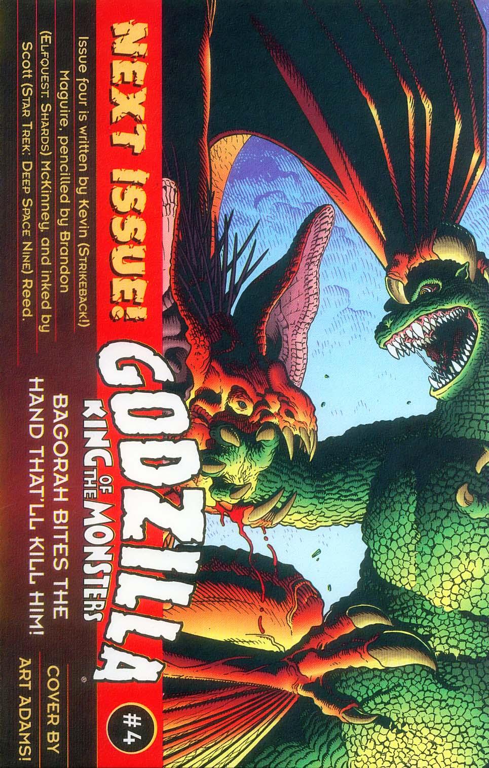 Godzilla (1995) Issue #3 #4 - English 27