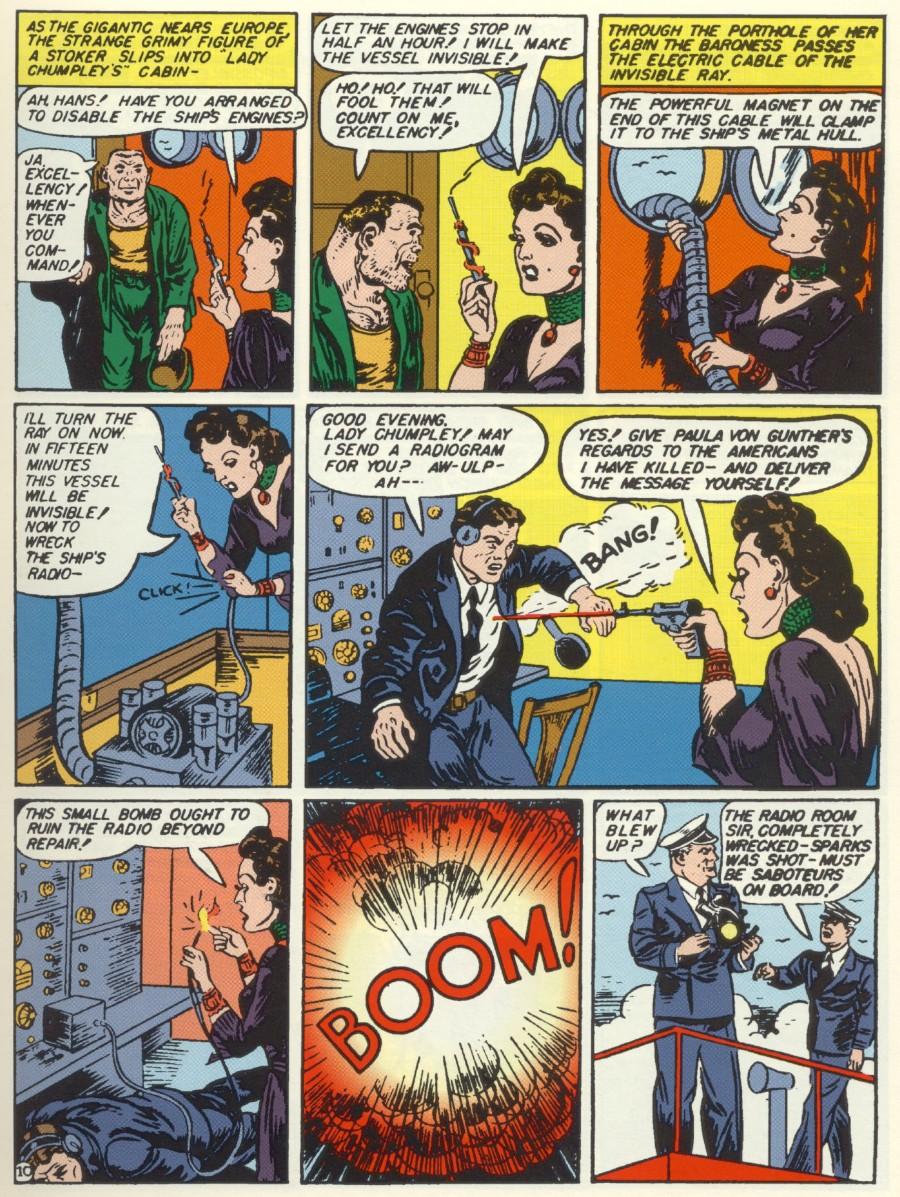 Read online Sensation (Mystery) Comics comic -  Issue #6 - 12