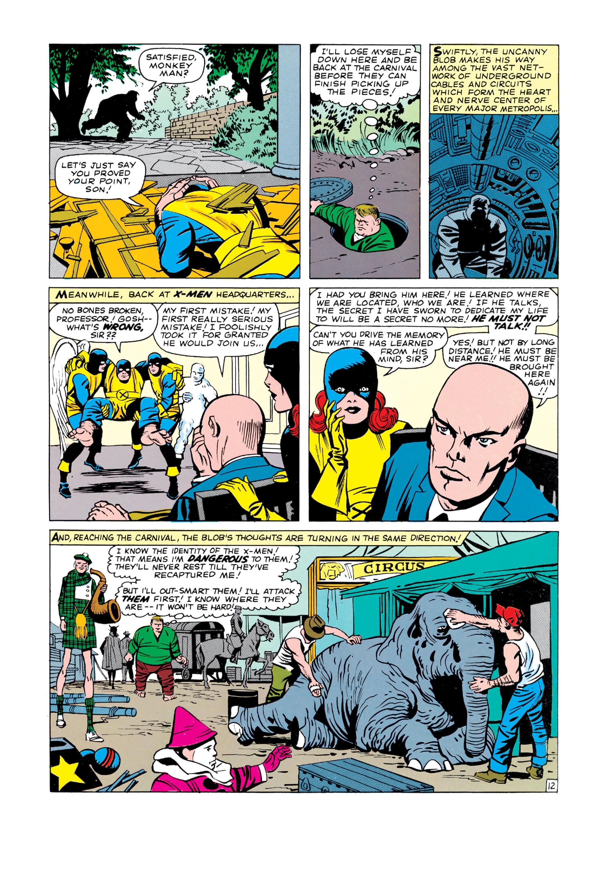Read online Uncanny X-Men (1963) comic -  Issue #3 - 13