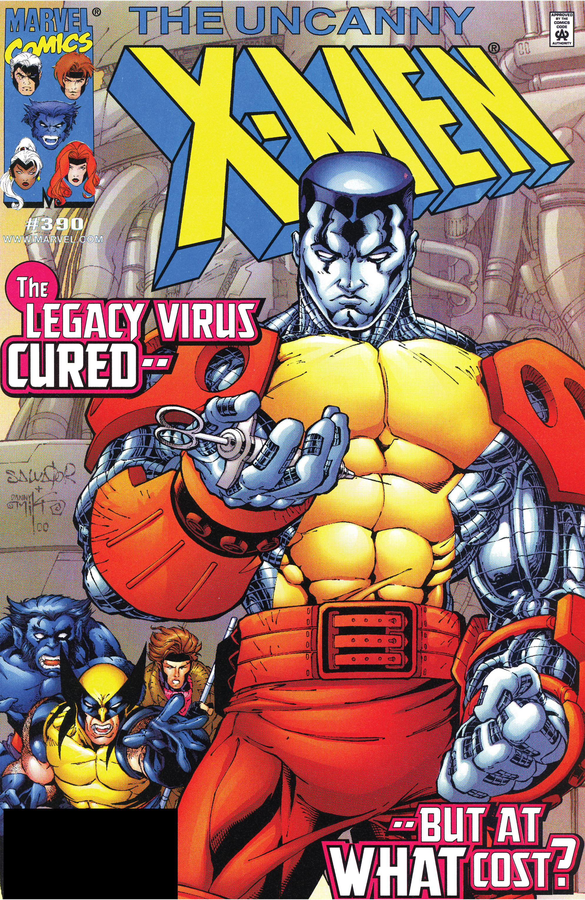 Read online Uncanny X-Men (1963) comic -  Issue #390 - 1