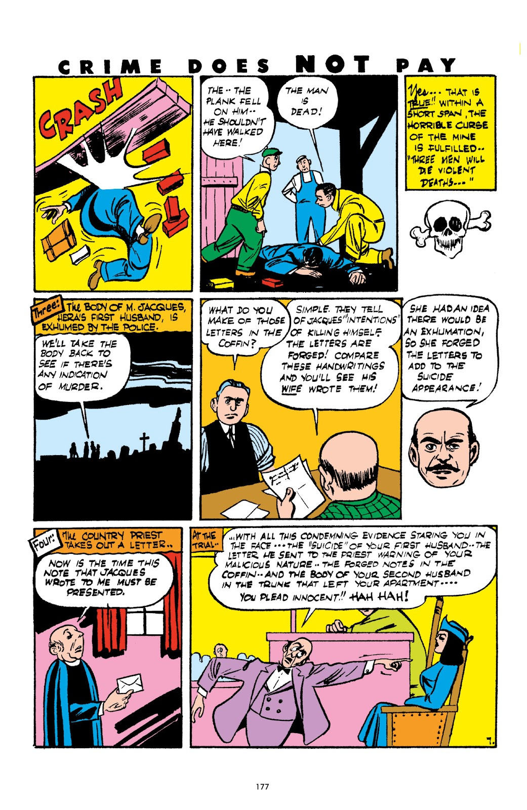 Read online Crime Does Not Pay Archives comic -  Issue # TPB 2 (Part 2) - 77