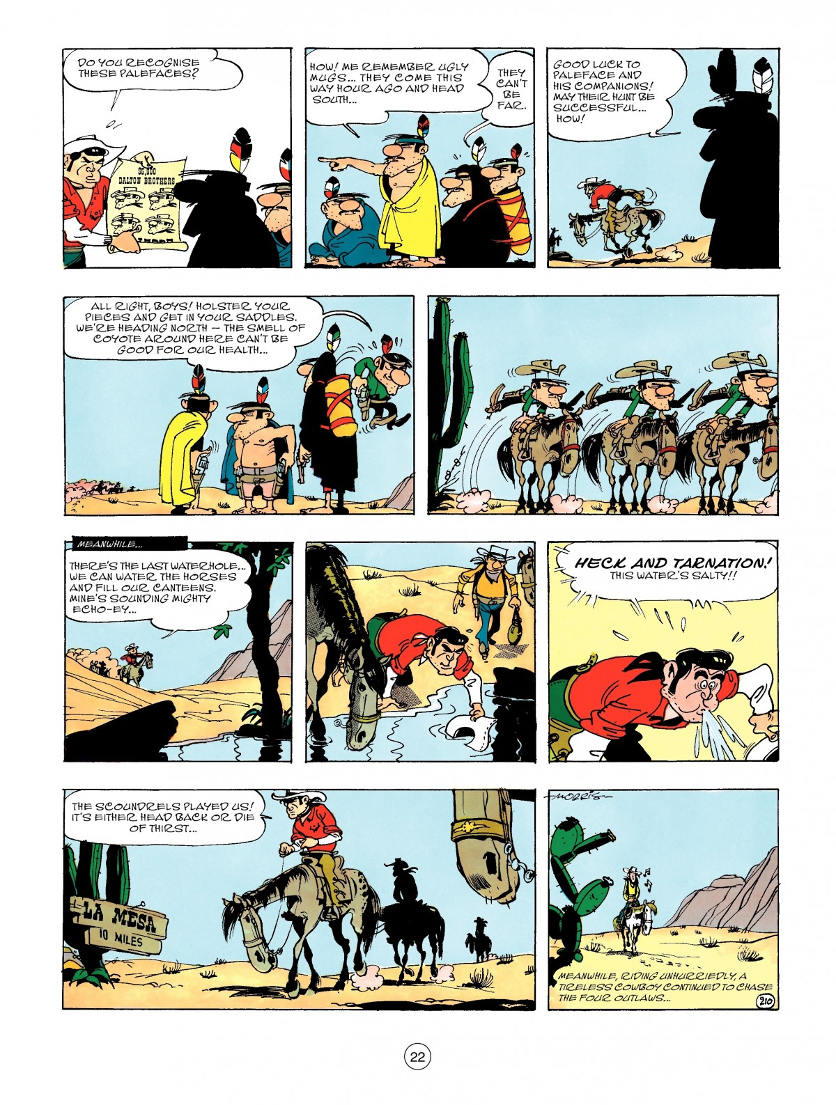 Read online A Lucky Luke Adventure comic -  Issue #47 - 22