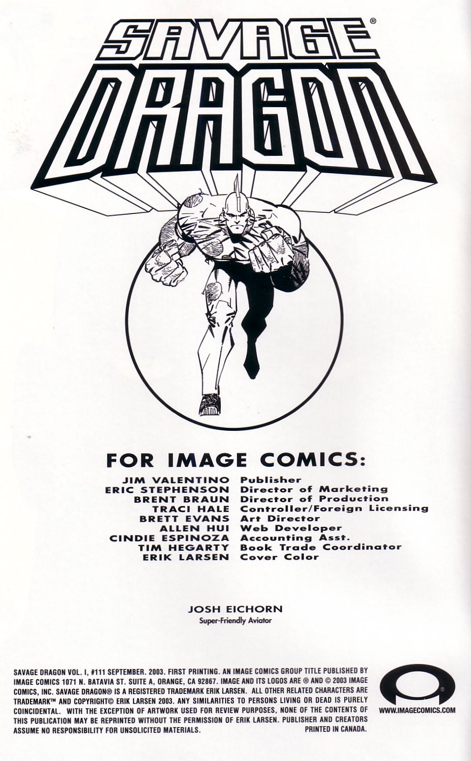 The Savage Dragon (1993) Issue #111 #114 - English 3