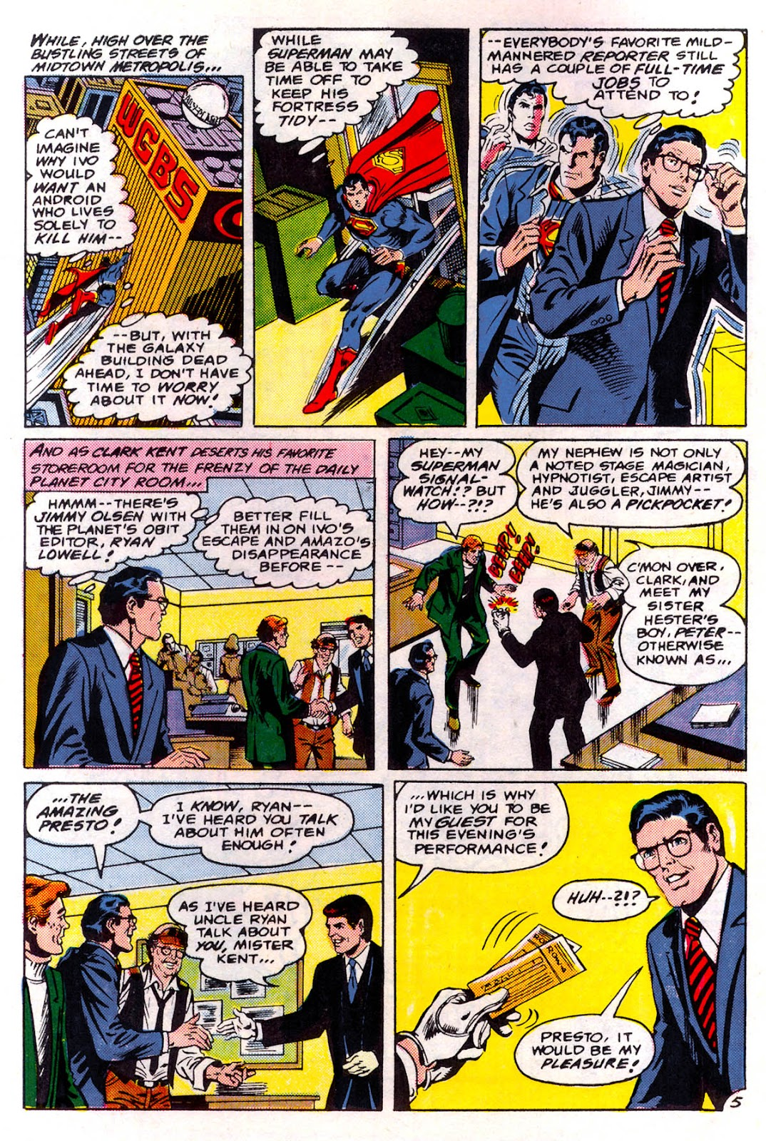 Read online Superman Special (1983) comic -  Issue #3 - 6