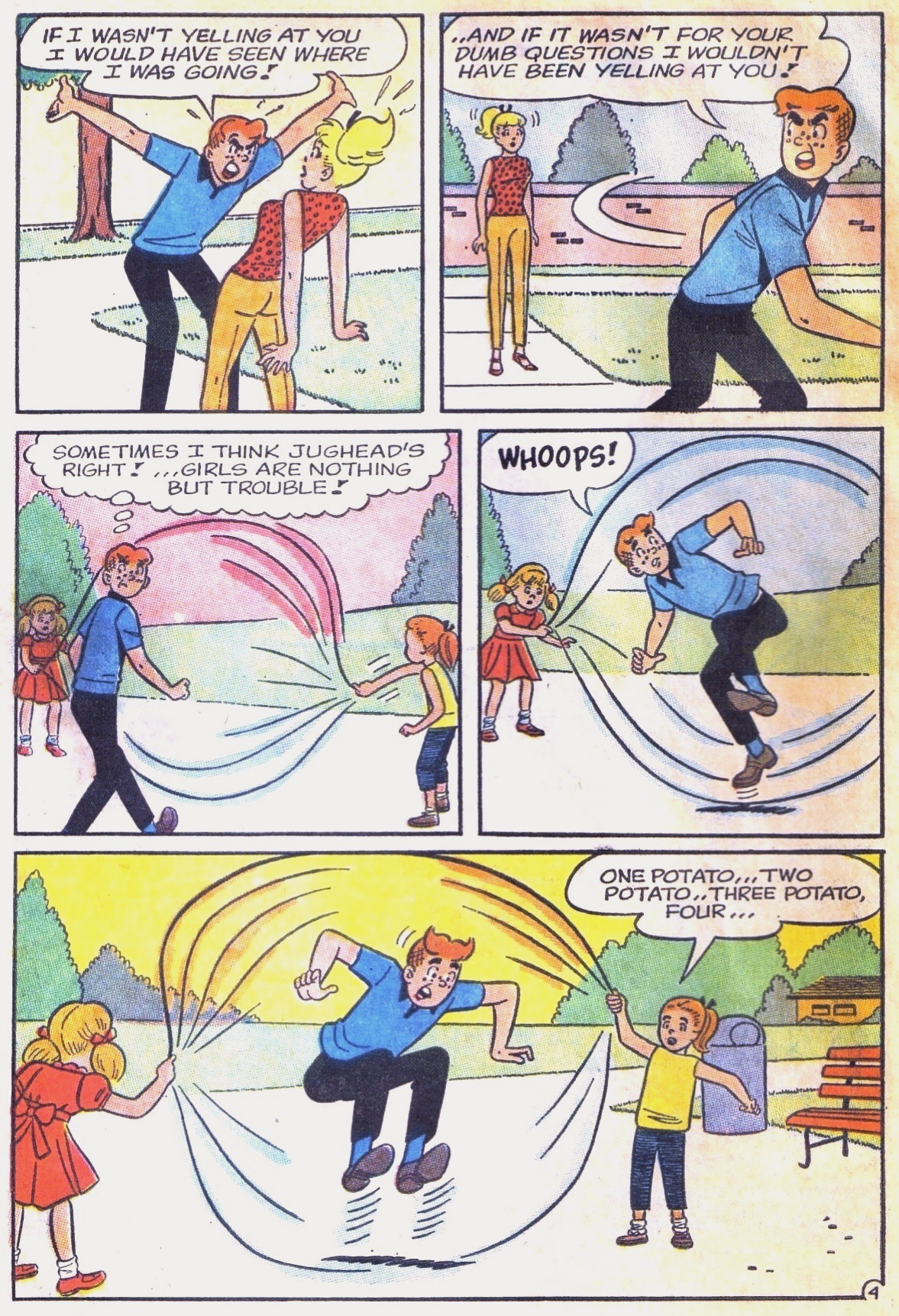 Read online Archie (1960) comic -  Issue #168 - 6