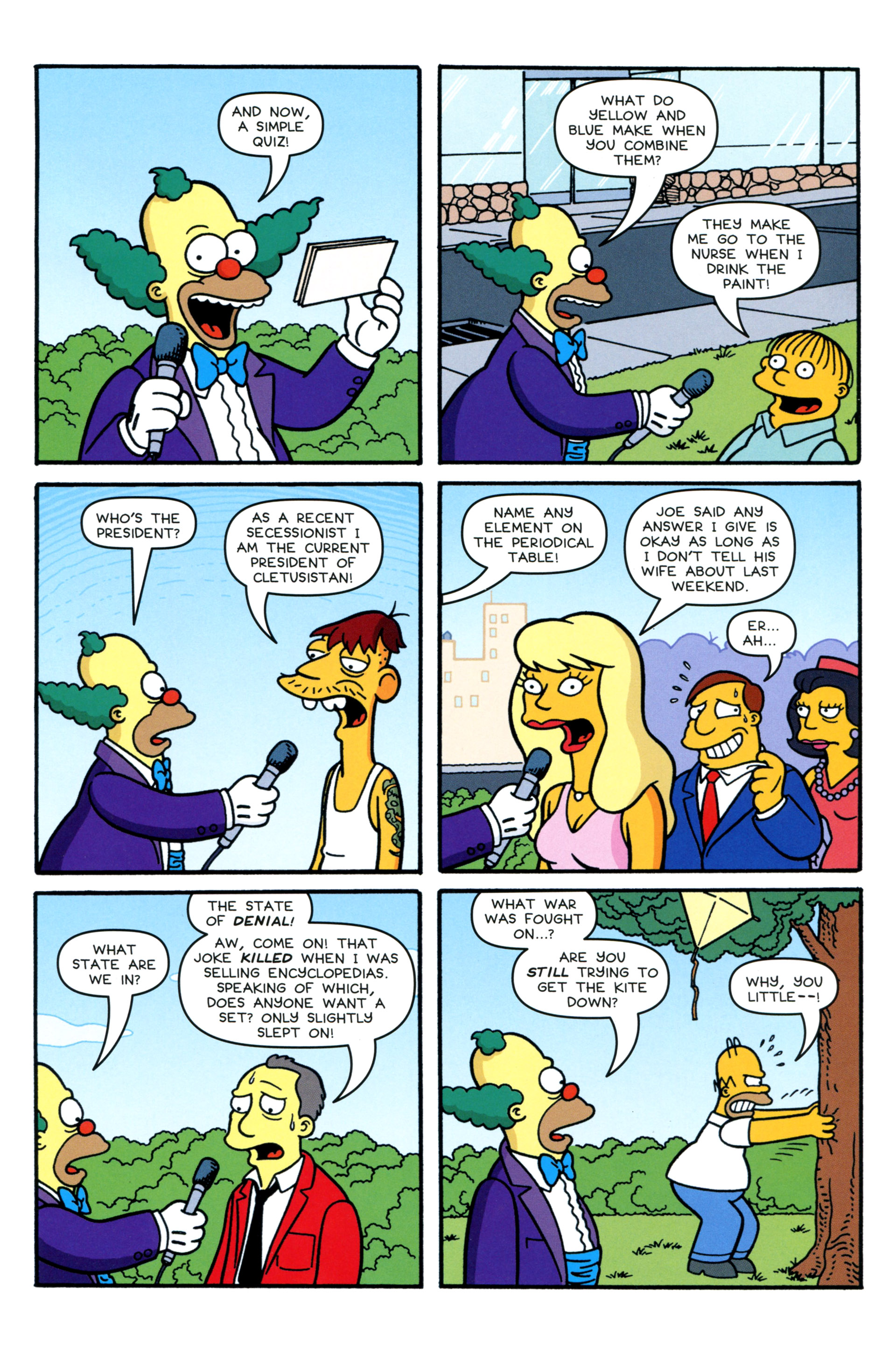 Read online Simpsons Comics comic -  Issue #206 - 16
