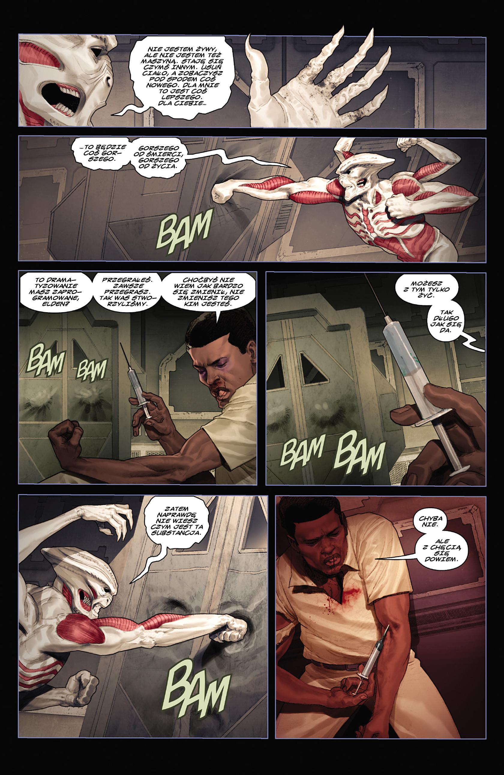 Read online Alien vs. Predator: Fire and Stone comic -  Issue #3 - 18