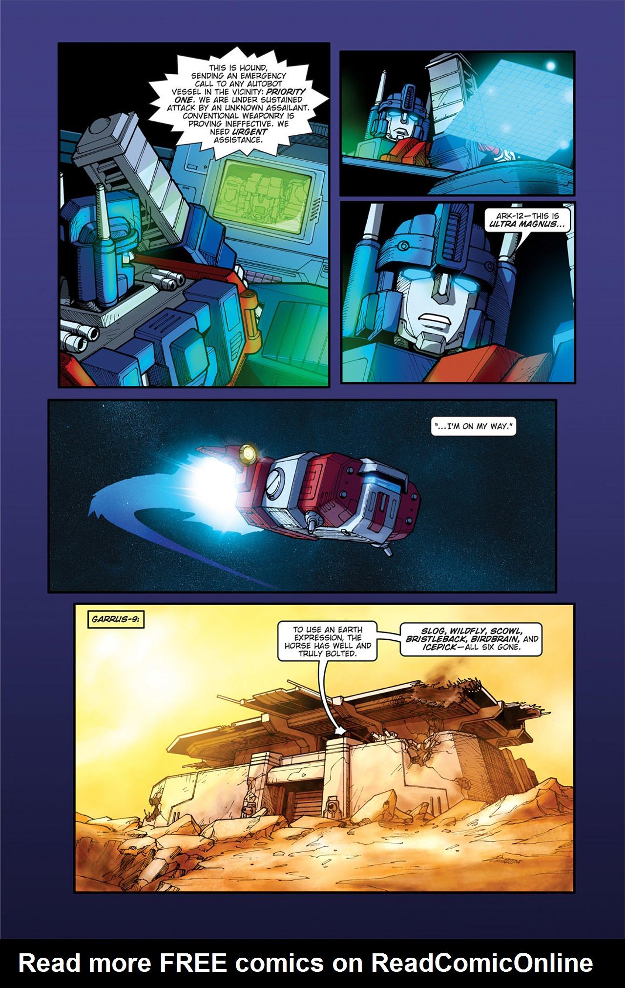 Read online Transformers Spotlight: Cyclonus comic -  Issue # Full - 13