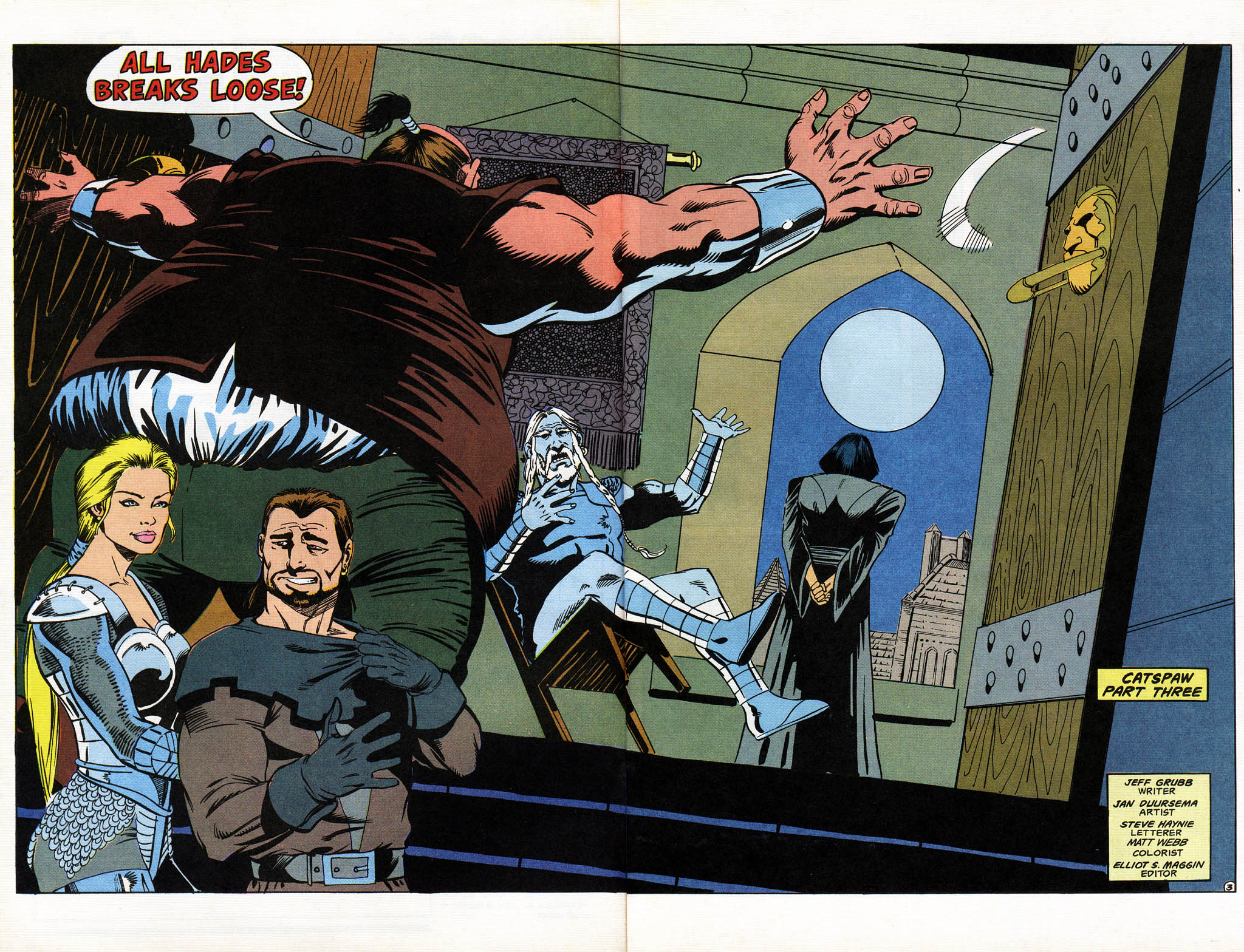 Read online Advanced Dungeons & Dragons comic -  Issue #11 - 4