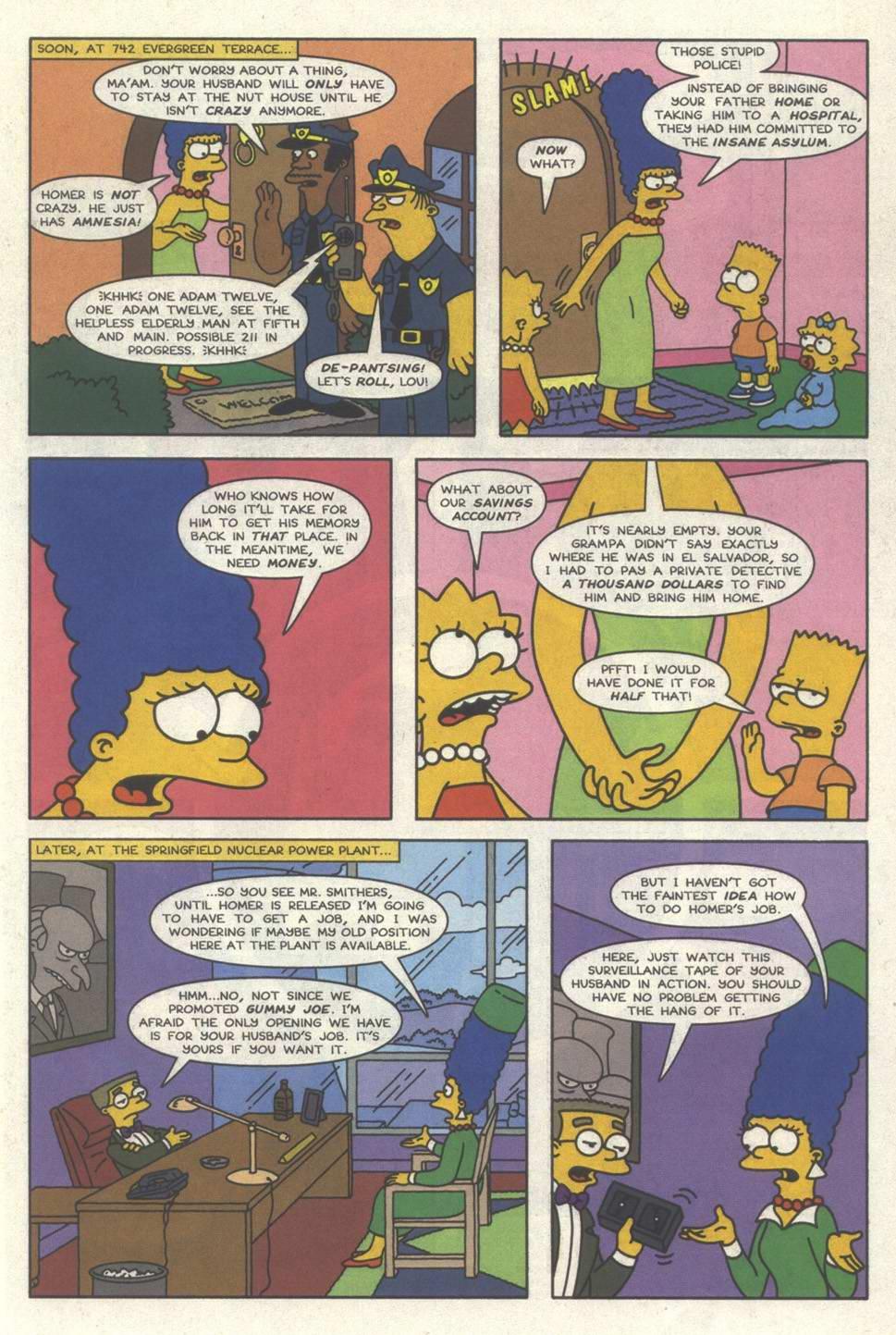 Read online Simpsons Comics comic -  Issue #31 - 14
