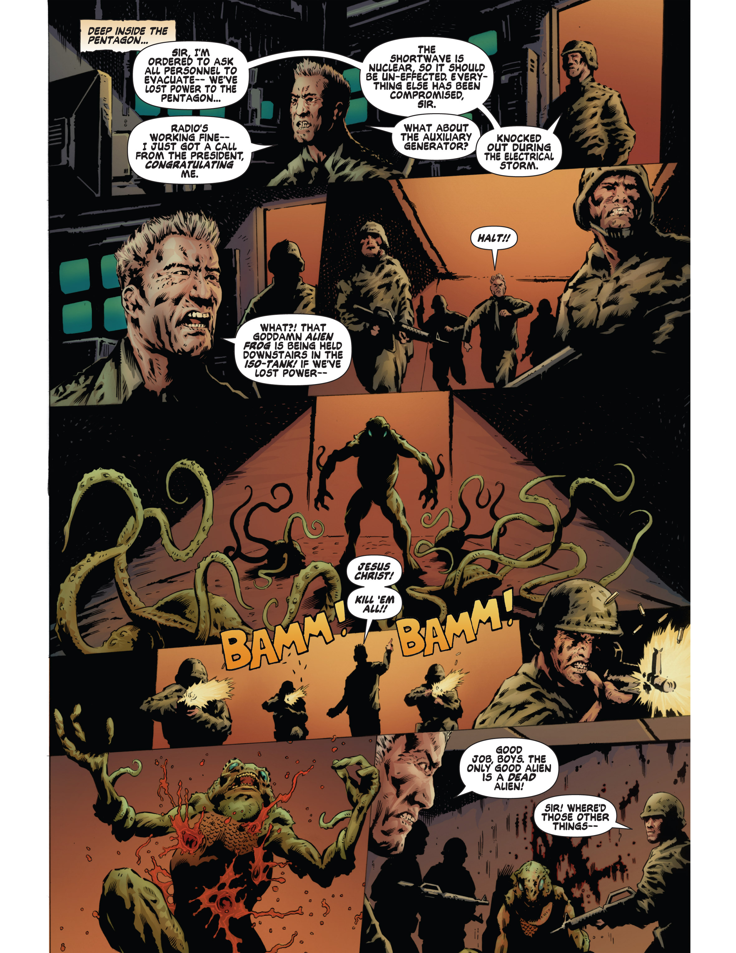 Read online Bad Planet comic -  Issue # TPB - 134