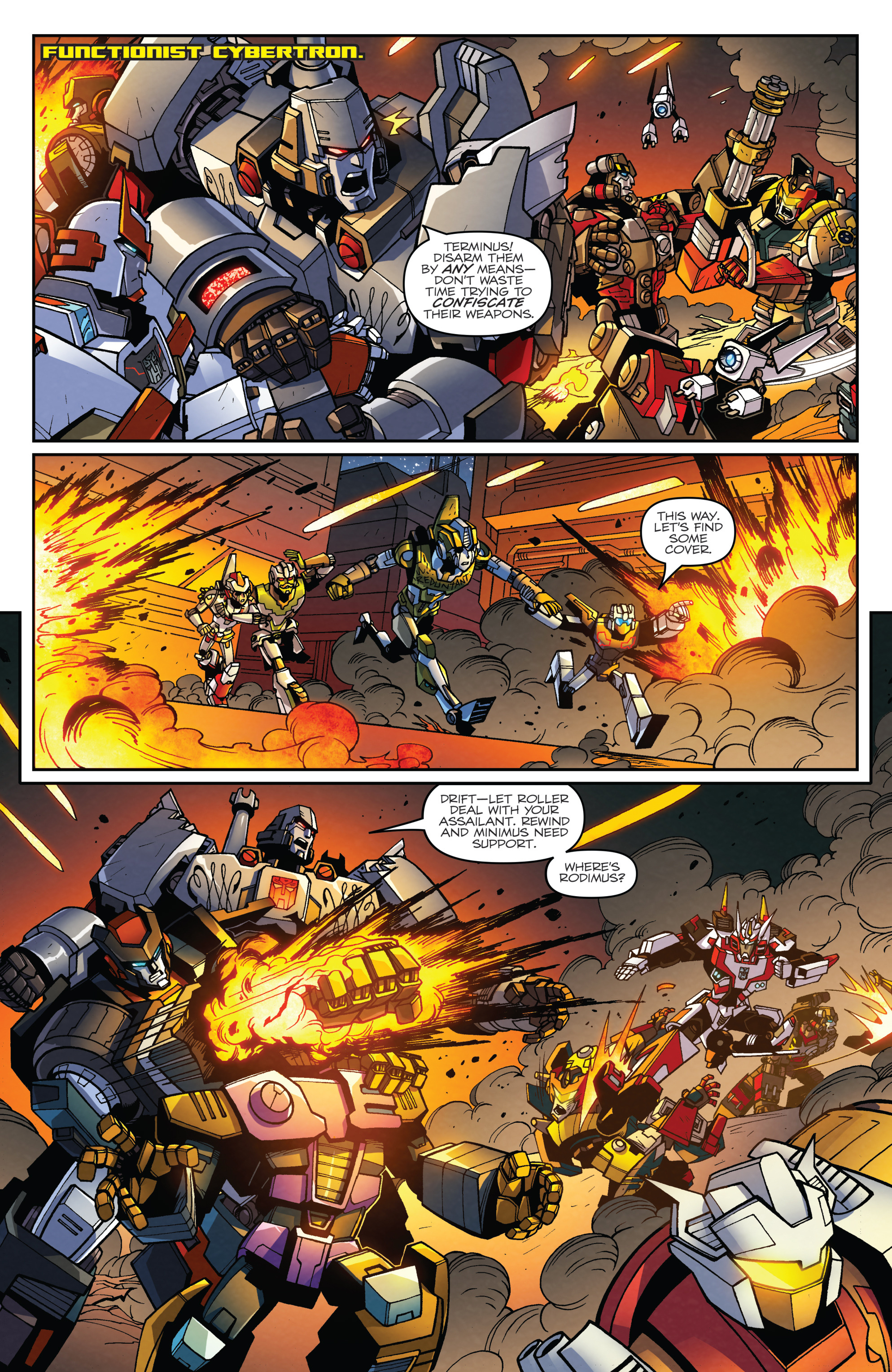 Read online Transformers: Lost Light comic -  Issue #2 - 19