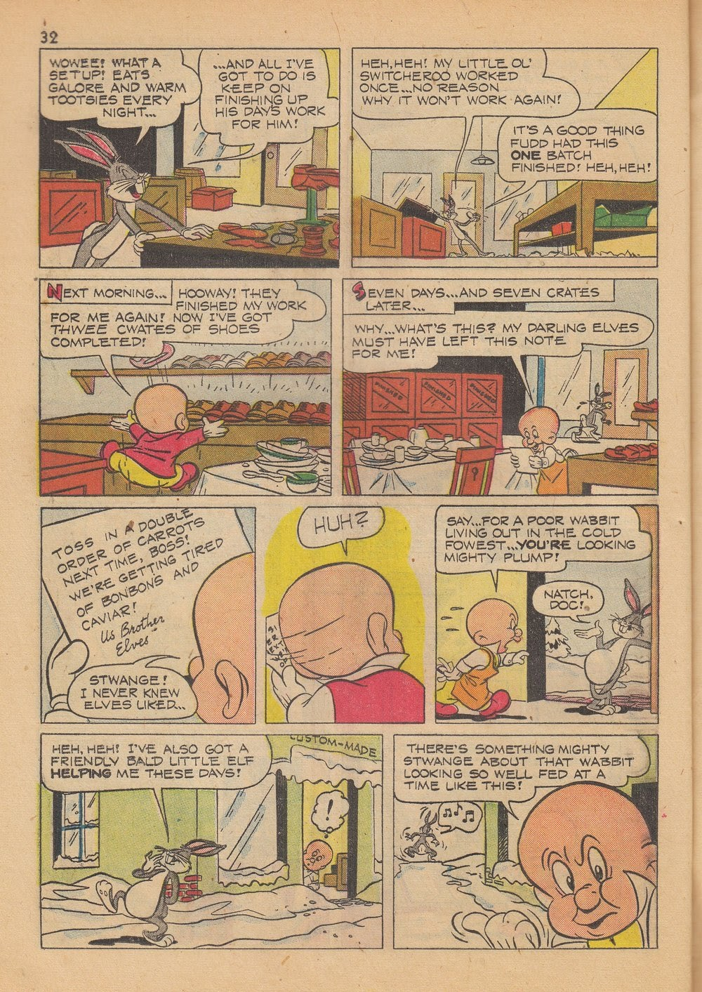 Bugs Bunny's Christmas Funnies issue TPB 4 - Page 34