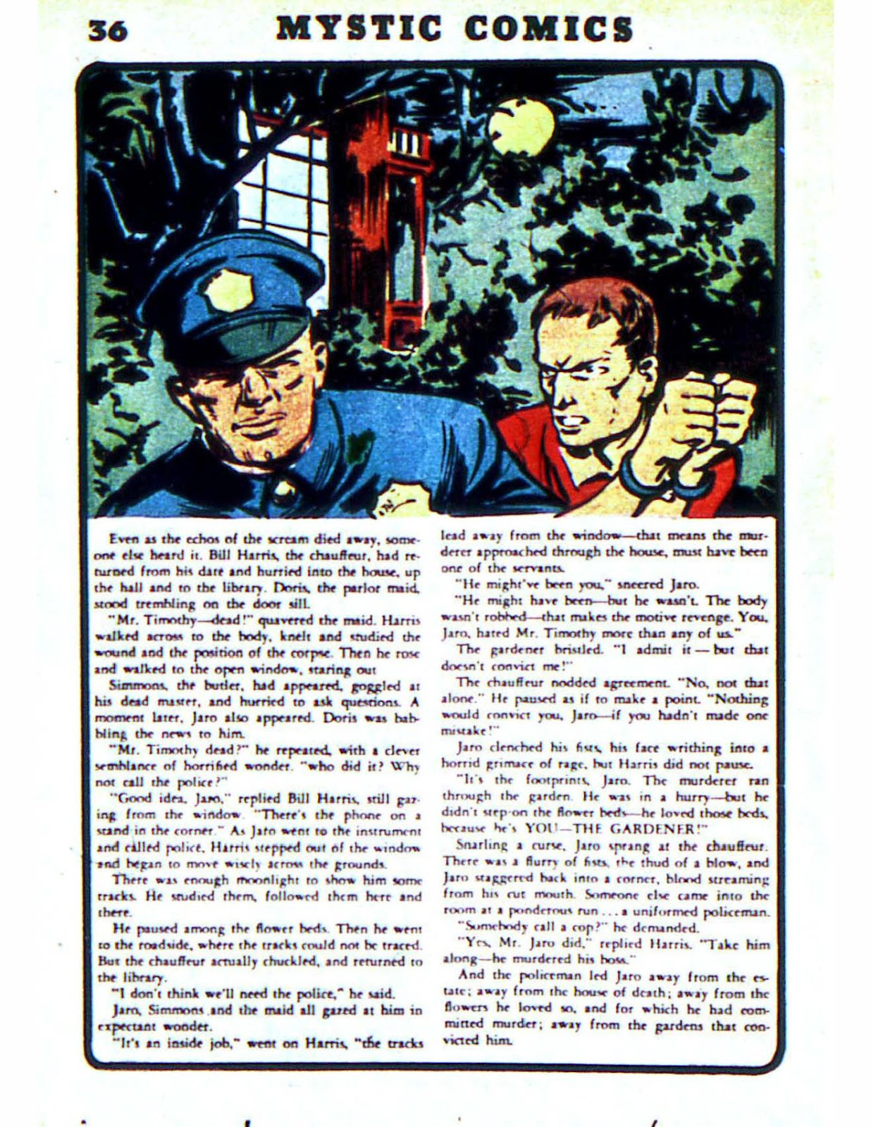 Mystic Comics (1940) issue 2 - Page 38