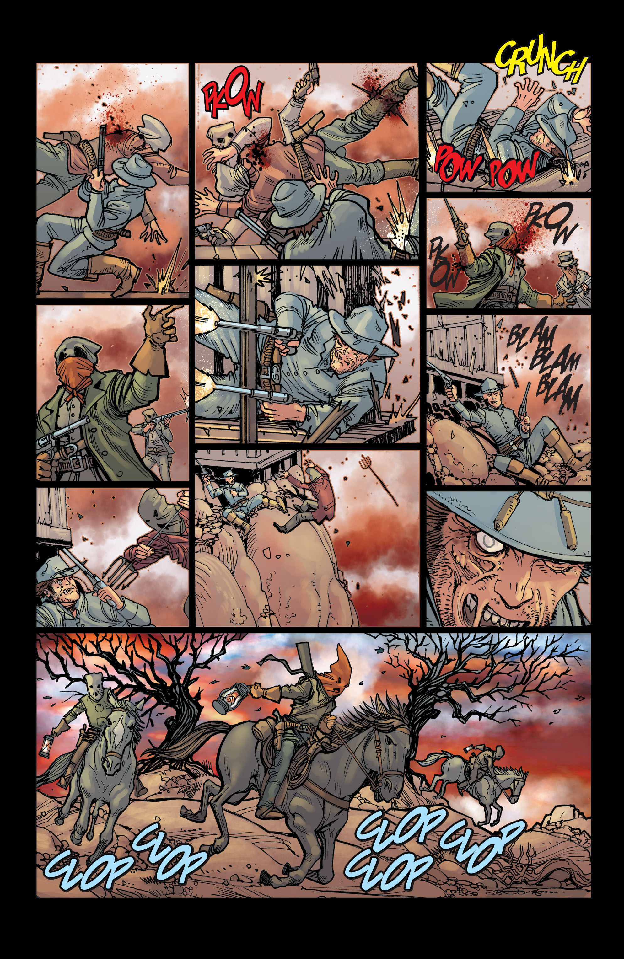 Read online All-Star Western (2011) comic -  Issue #2 - 8