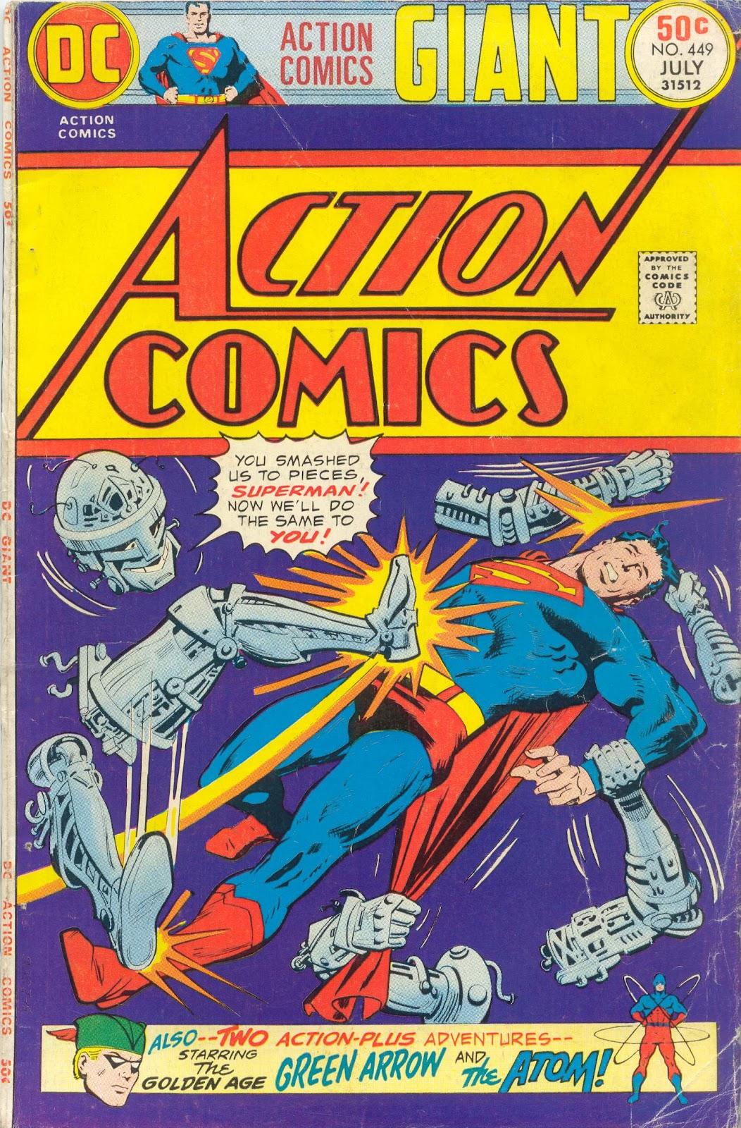 Action Comics (1938) 449 Page 1