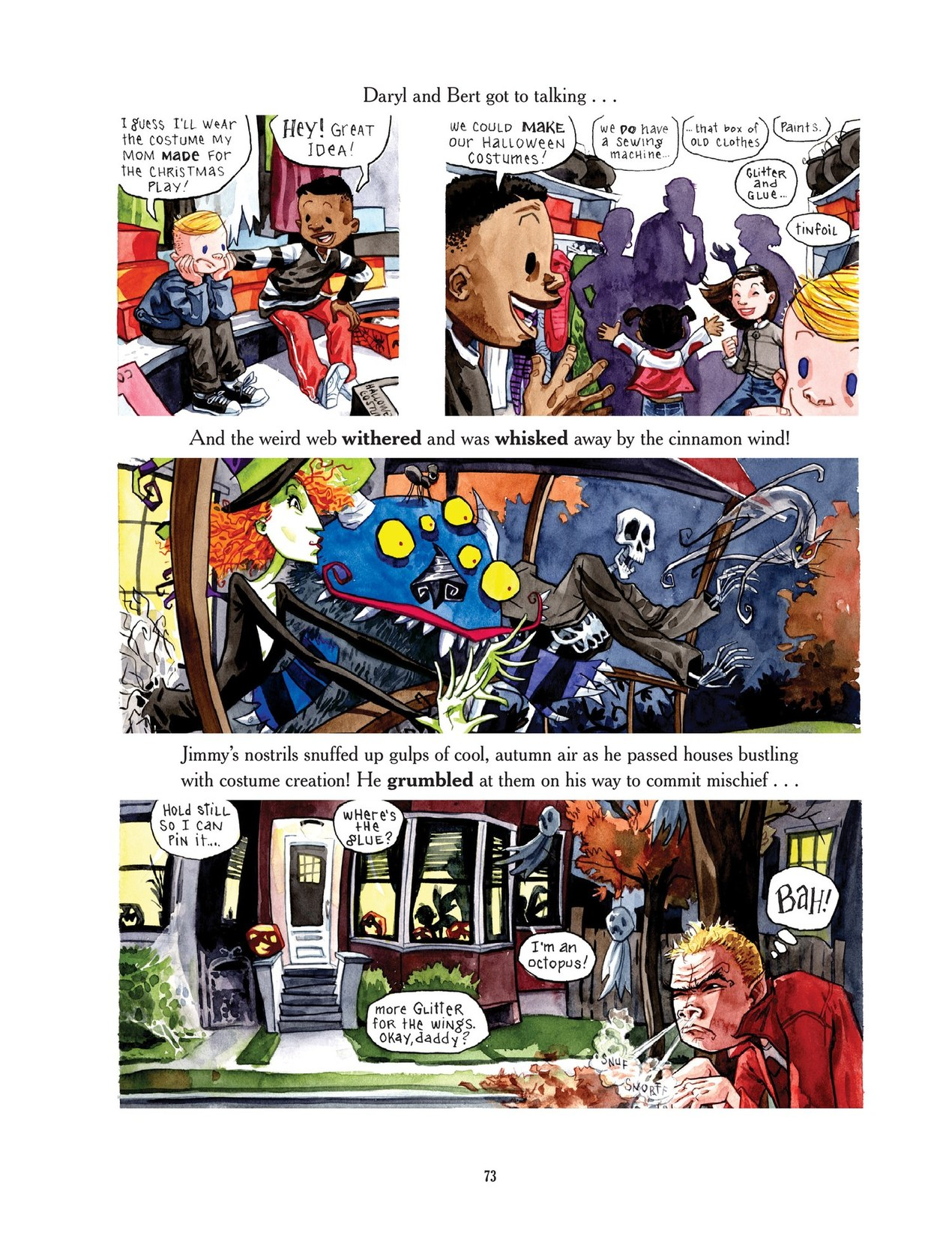 Read online Scary Godmother comic -  Issue # TPB - 73