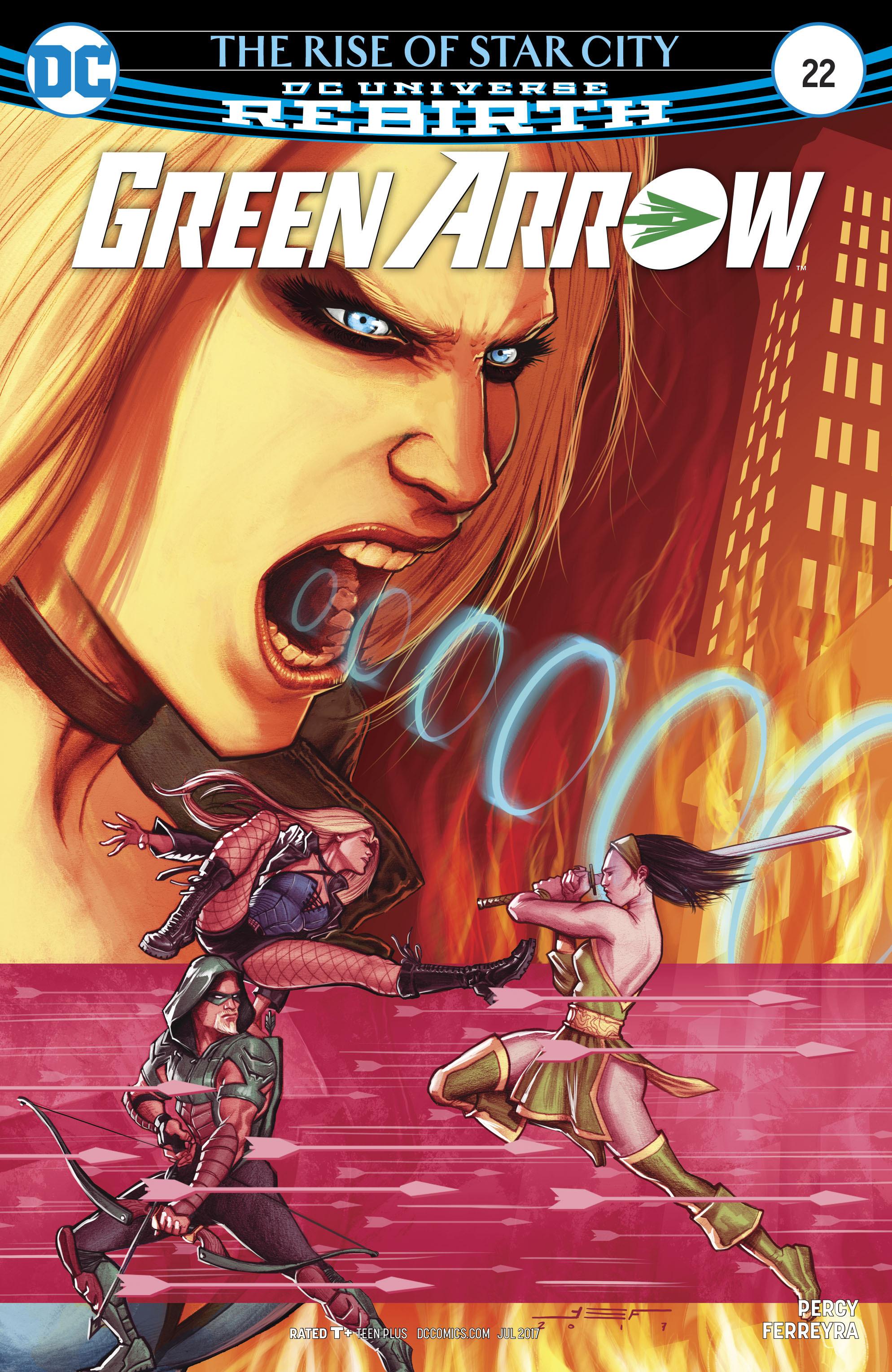 Read online Green Arrow (2016) comic -  Issue #22 - 1