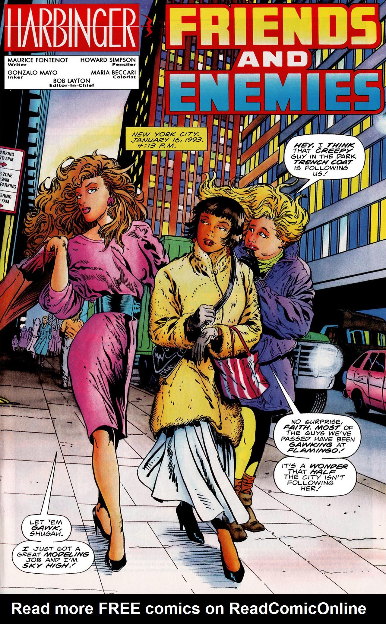 Read online Harbinger (1992) comic -  Issue #18 - 2