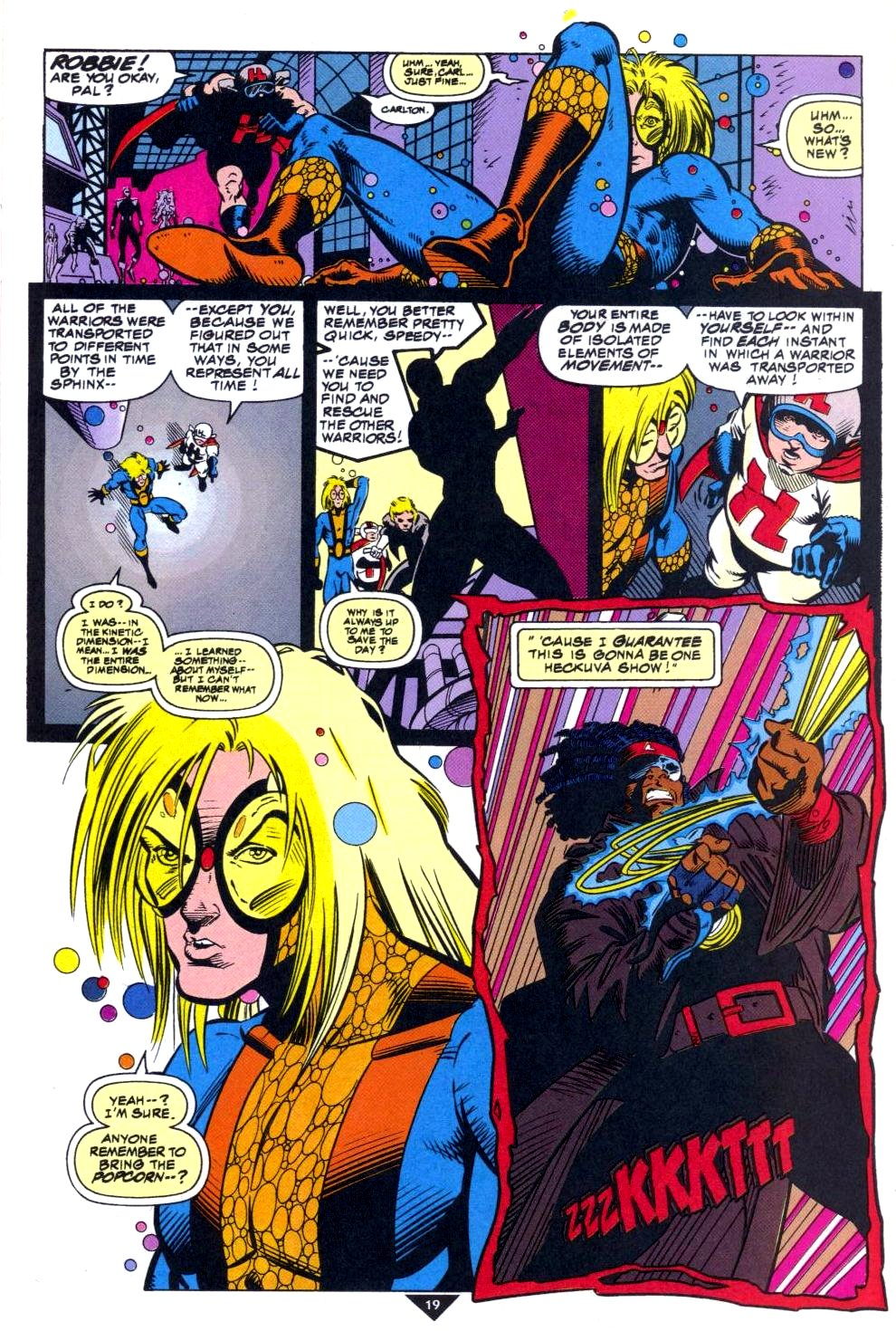 The New Warriors Issue #50 #54 - English 16