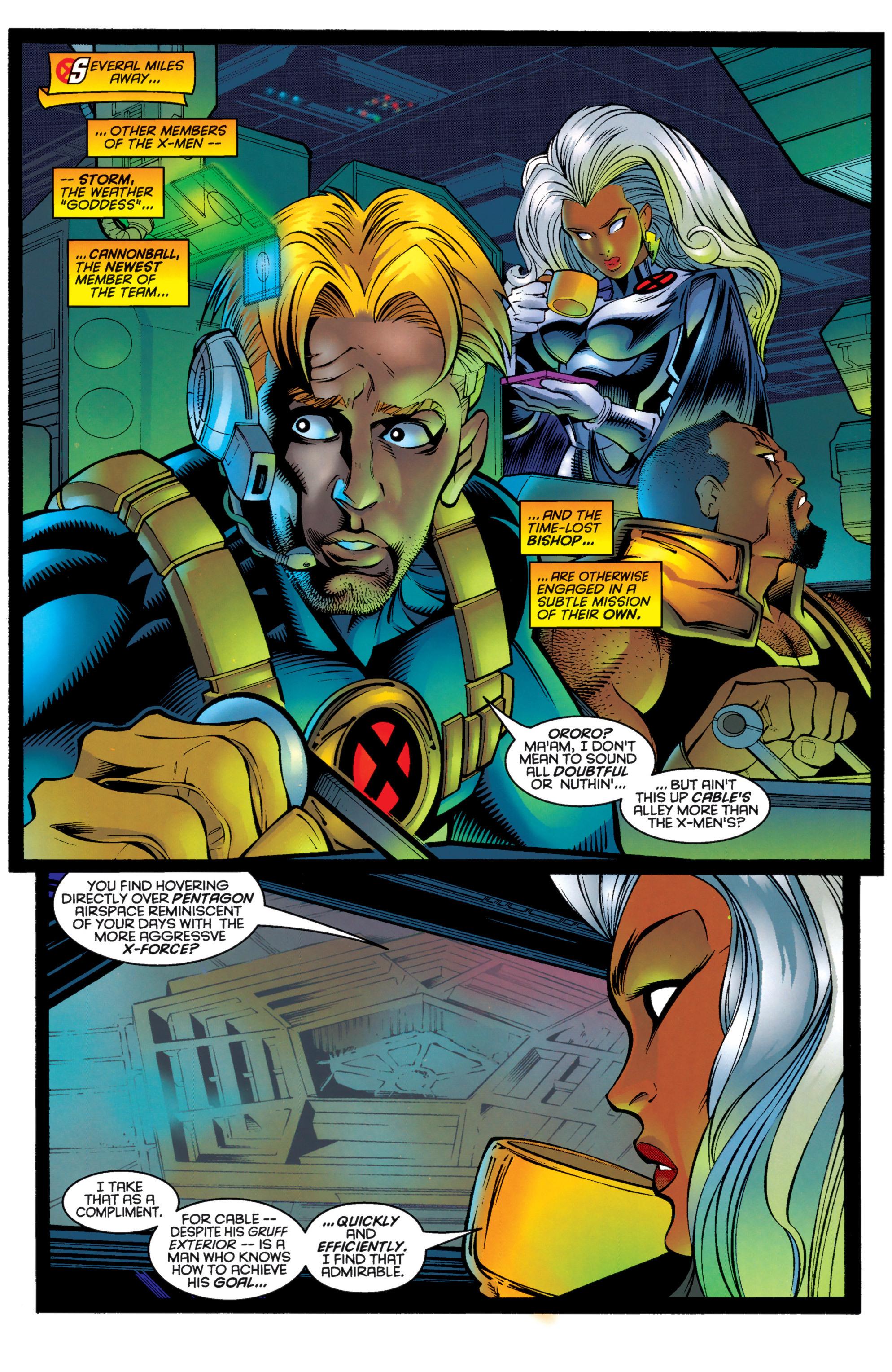 Read online Uncanny X-Men (1963) comic -  Issue #333 - 4