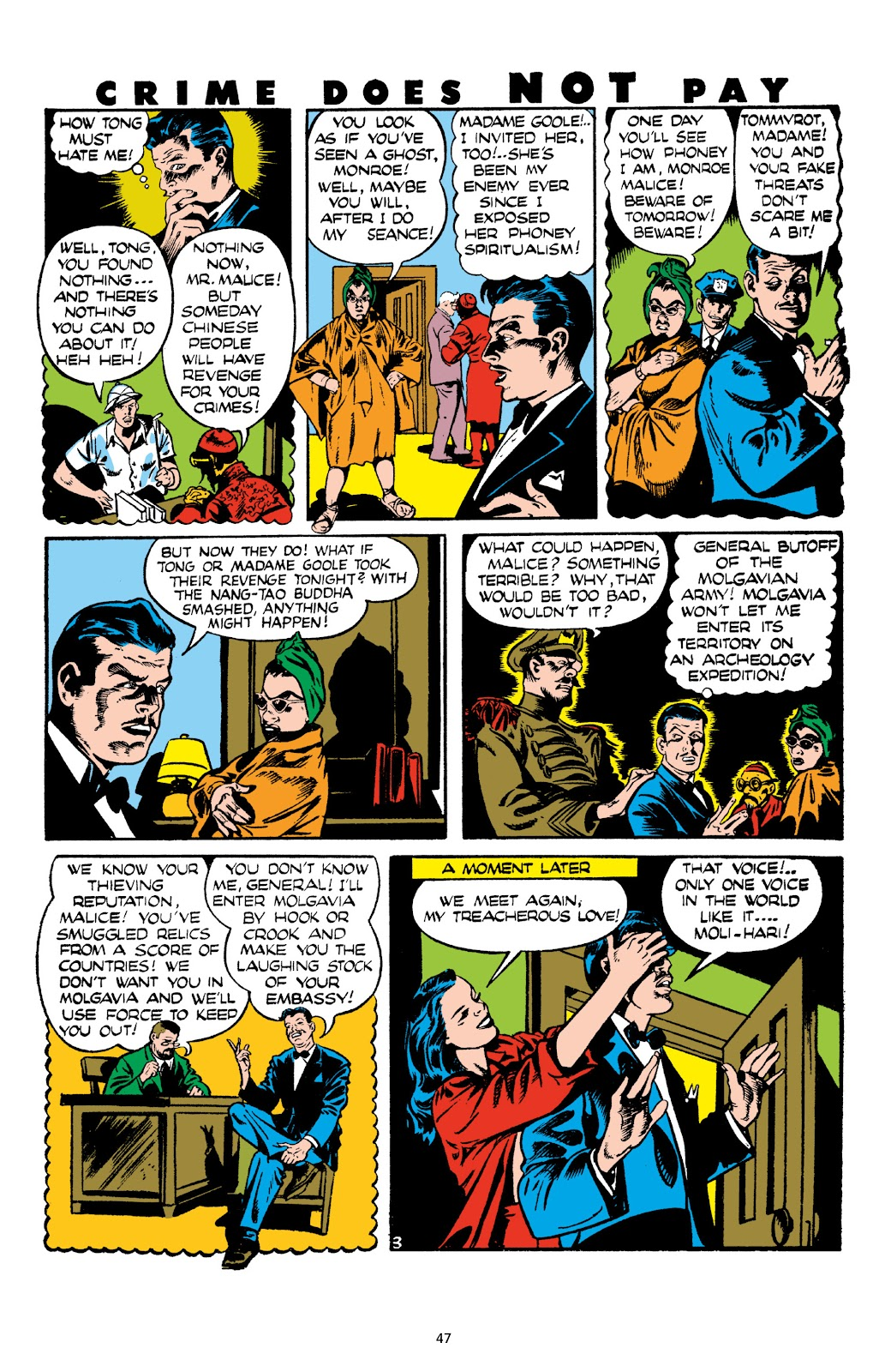 Read online Crime Does Not Pay Archives comic -  Issue # TPB 8 (Part 1) - 48