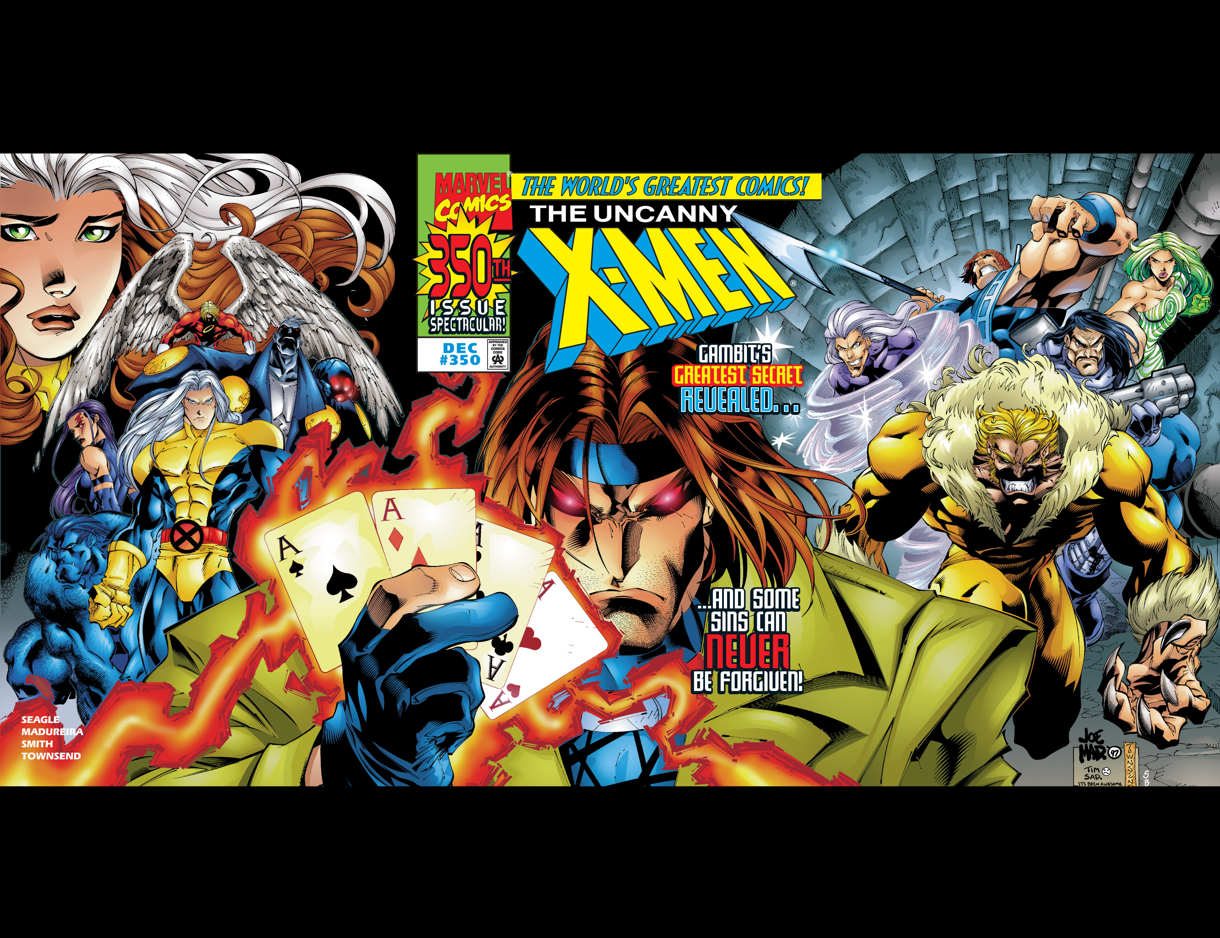 Read online Uncanny X-Men (1963) comic -  Issue #350 - 2