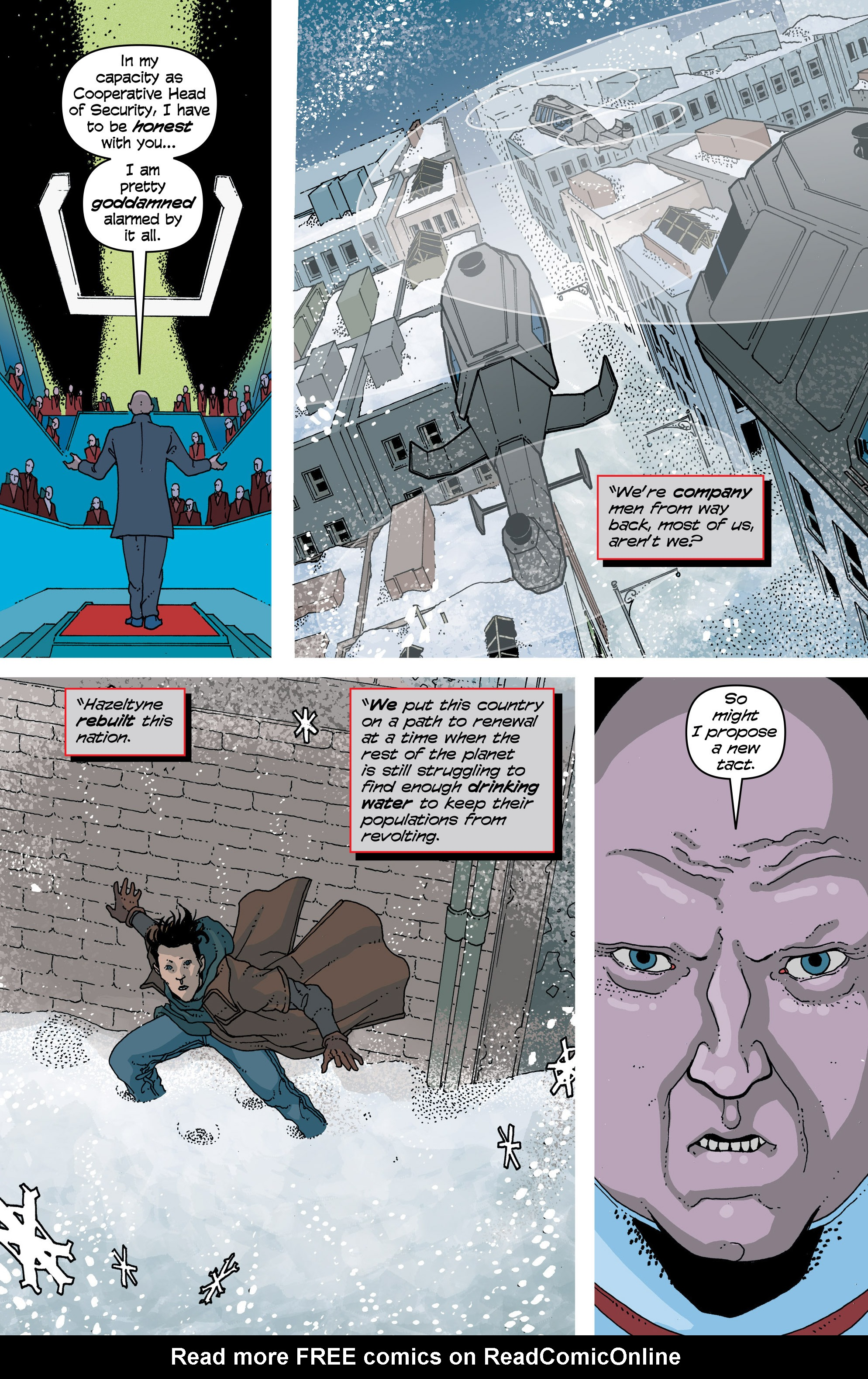 Read online Snowfall comic -  Issue #7 - 22