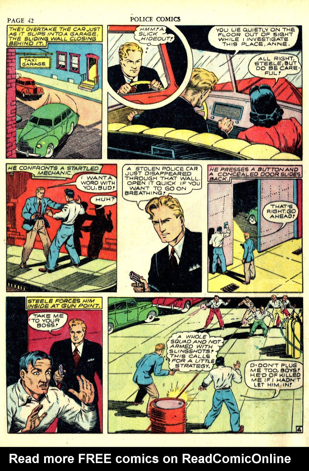 Police Comics issue 6 - Page 45