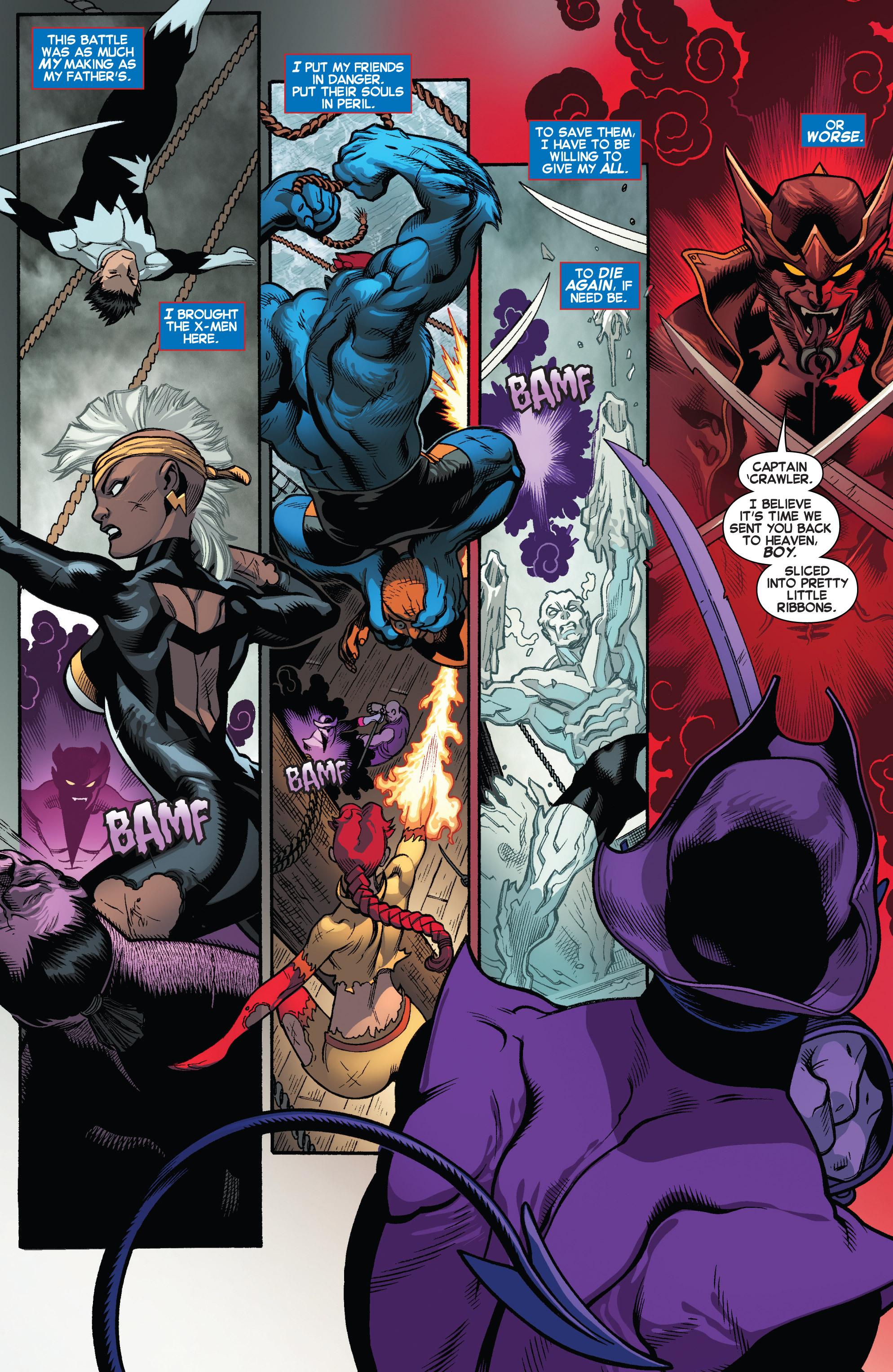 Read online Amazing X-Men (2014) comic -  Issue #5 - 7