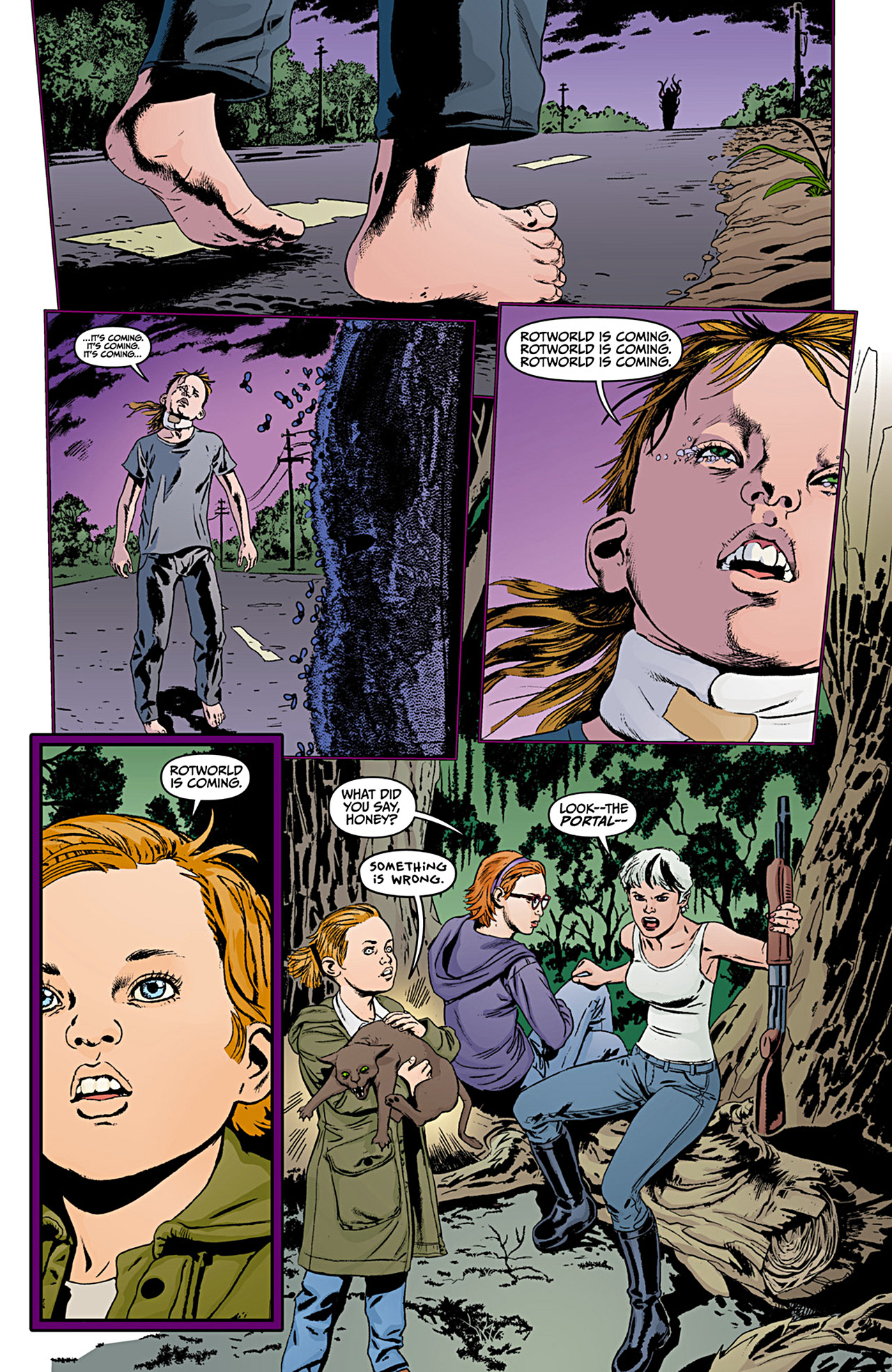 Read online Animal Man (2011) comic -  Issue #12 - 20