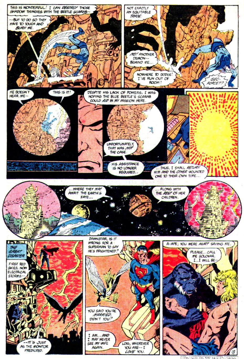 Read online Crisis on Infinite Earths (1985) comic -  Issue #3 - 19